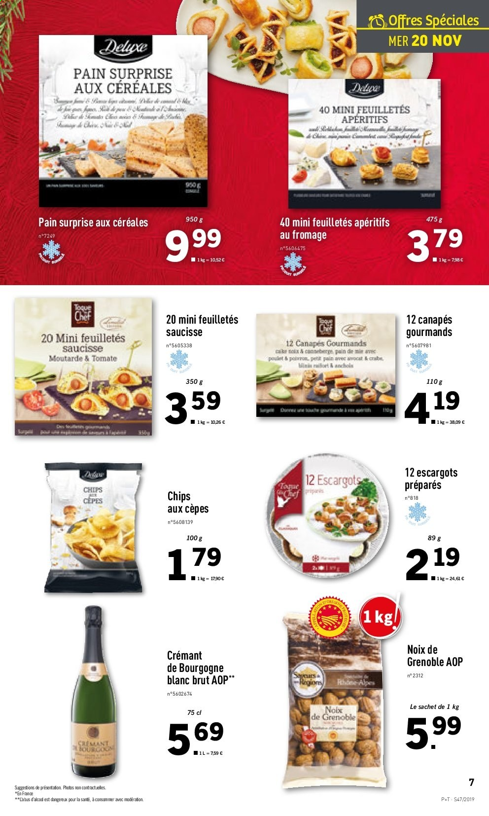 Catalogue Lidl - 20.11.2019 - 26.11.2019. Page 7.