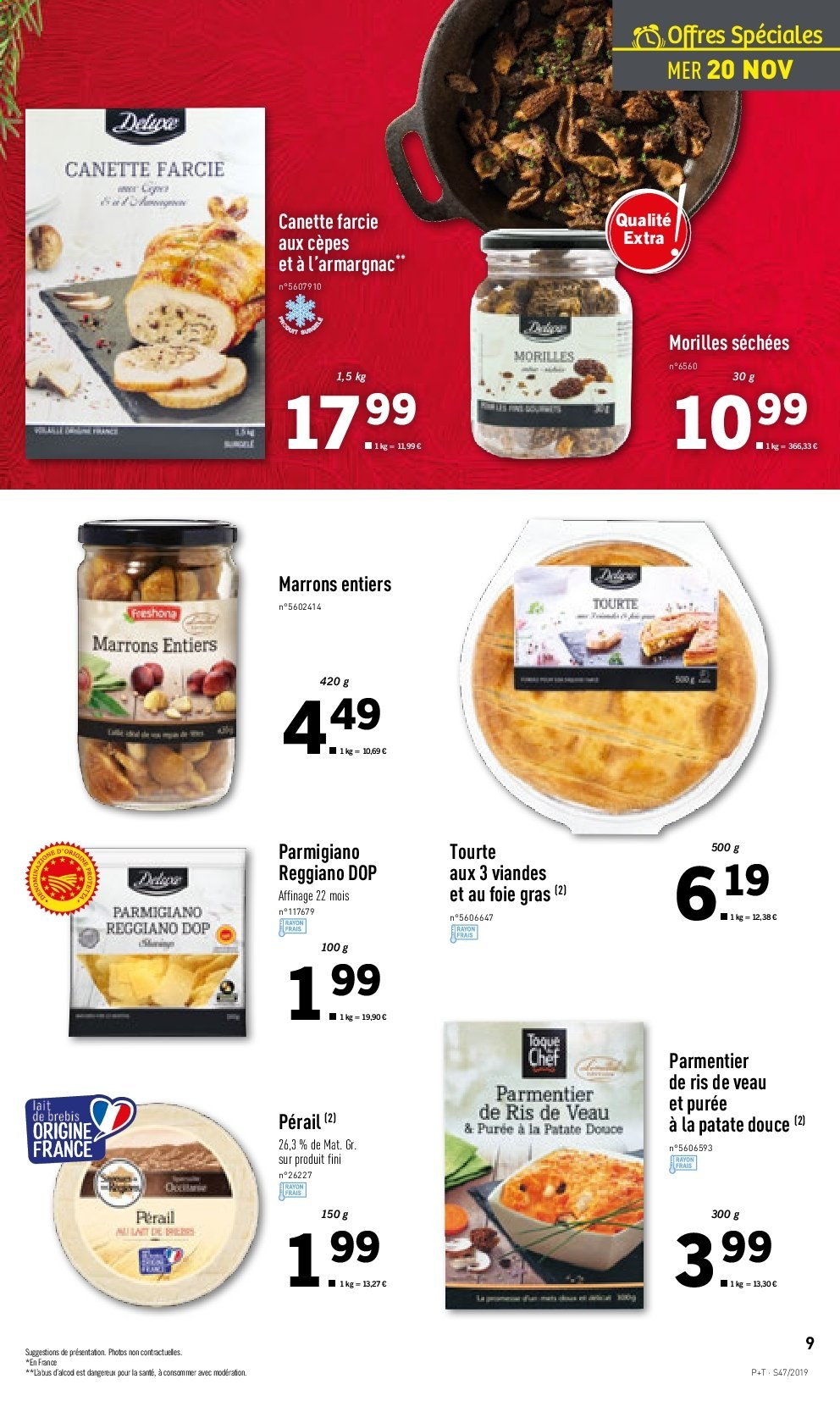 Catalogue Lidl - 20.11.2019 - 26.11.2019. Page 9.