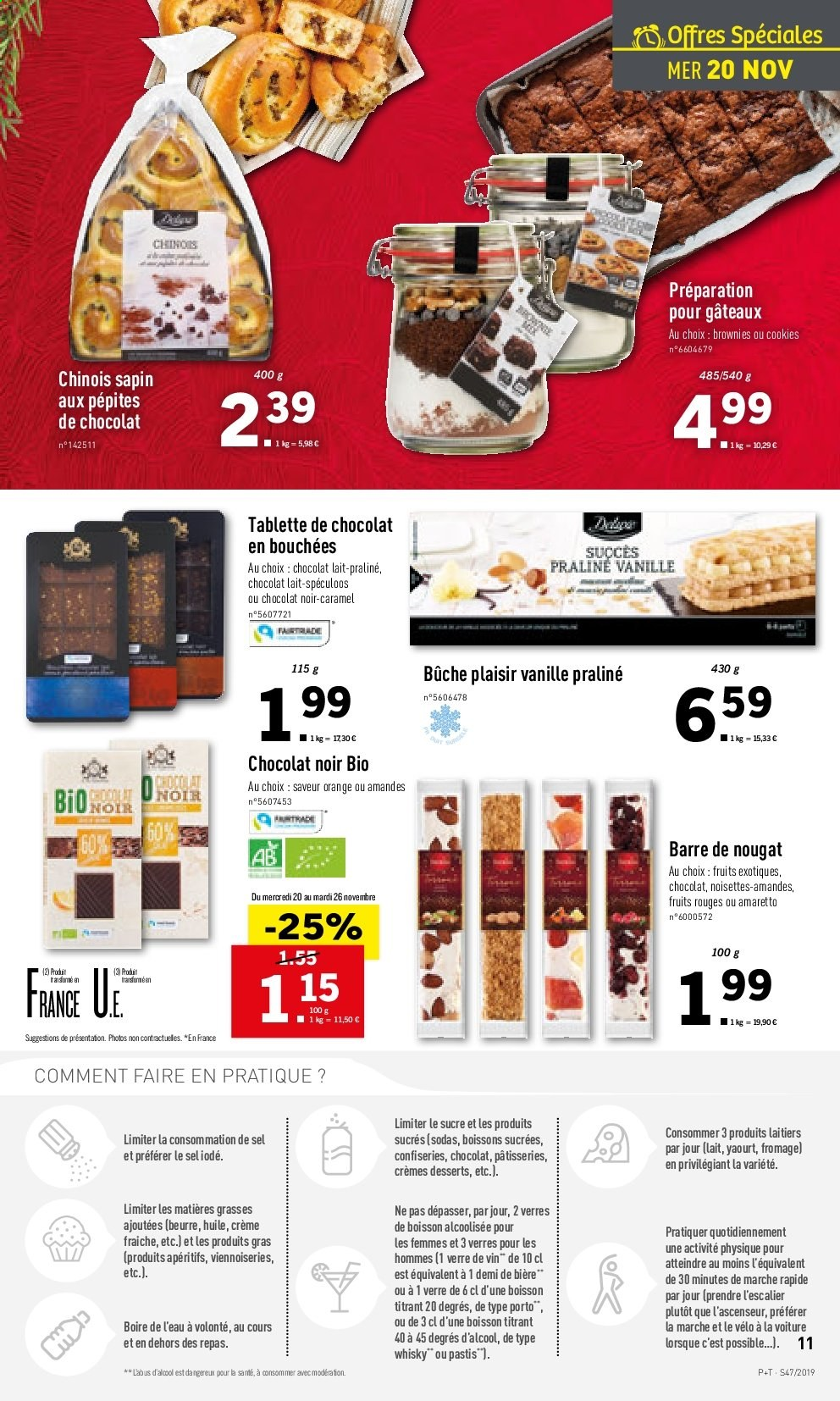 Catalogue Lidl - 20.11.2019 - 26.11.2019. Page 11.