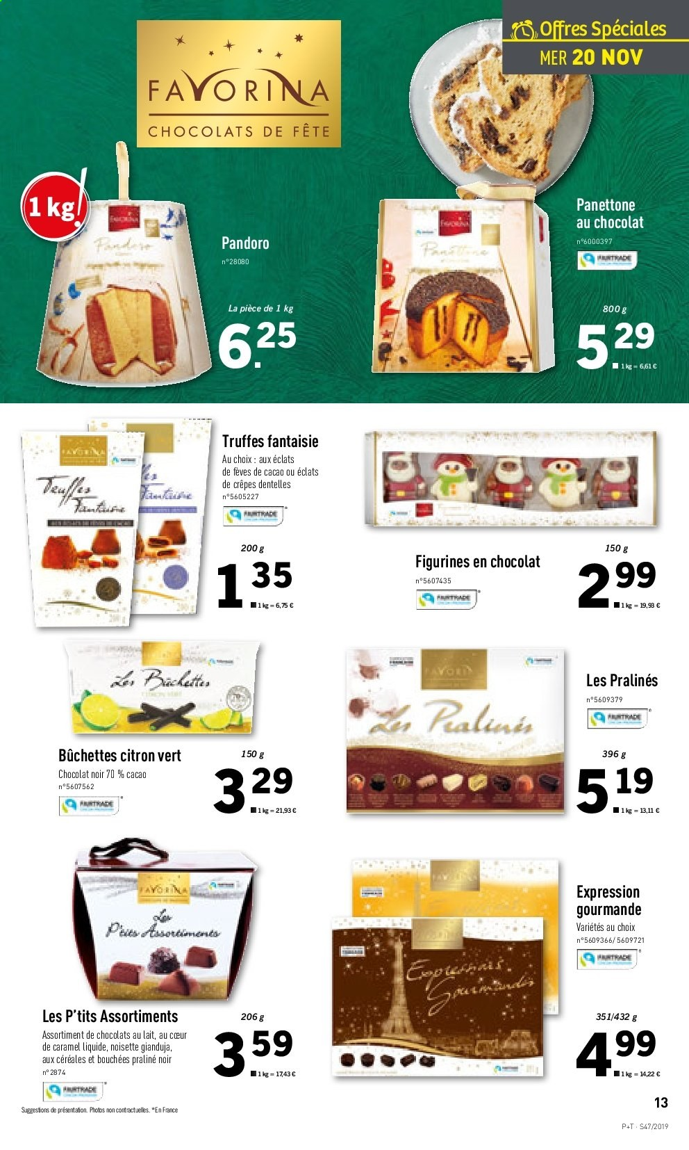Catalogue Lidl - 20.11.2019 - 26.11.2019. Page 13.