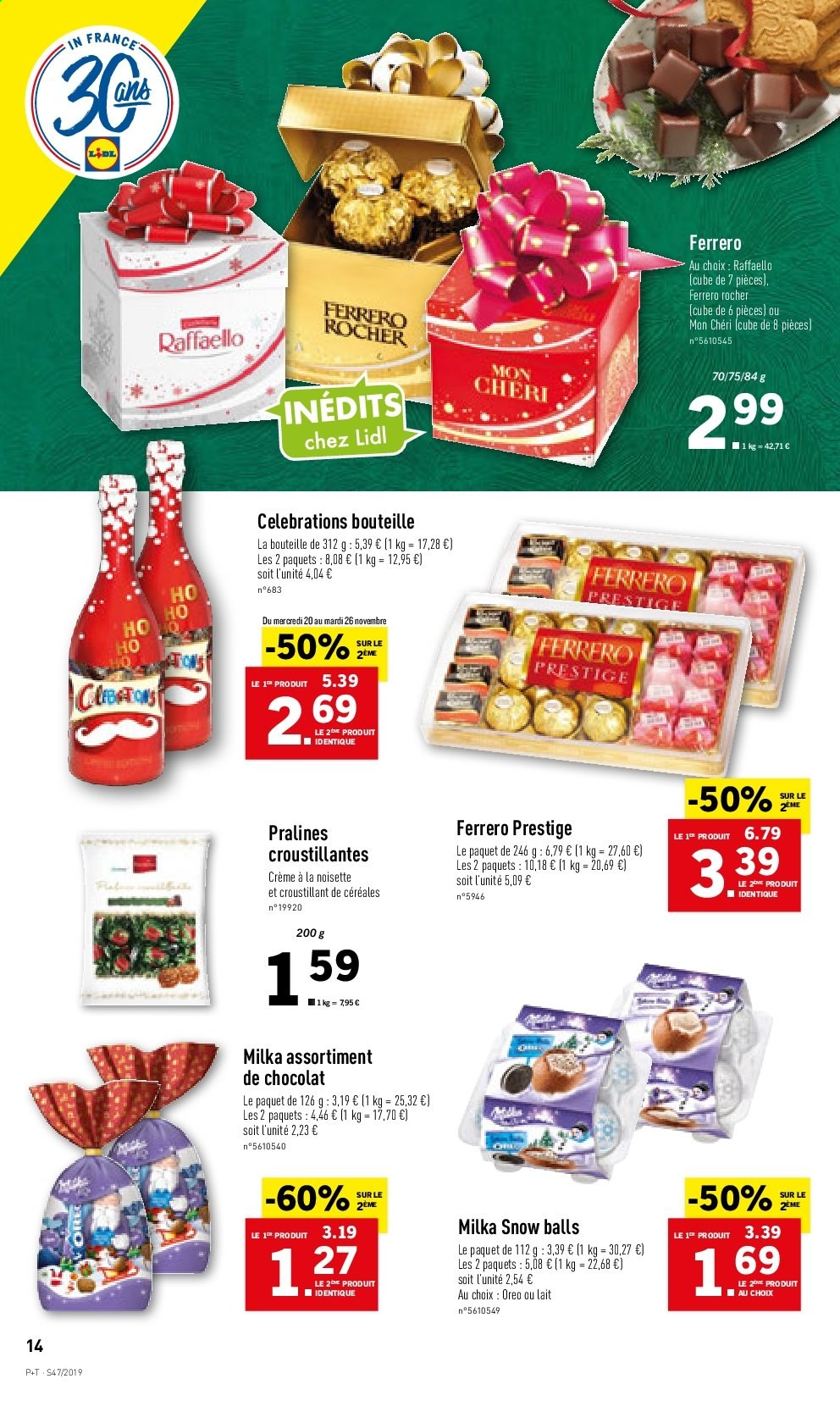Catalogue Lidl - 20.11.2019 - 26.11.2019. Page 14.