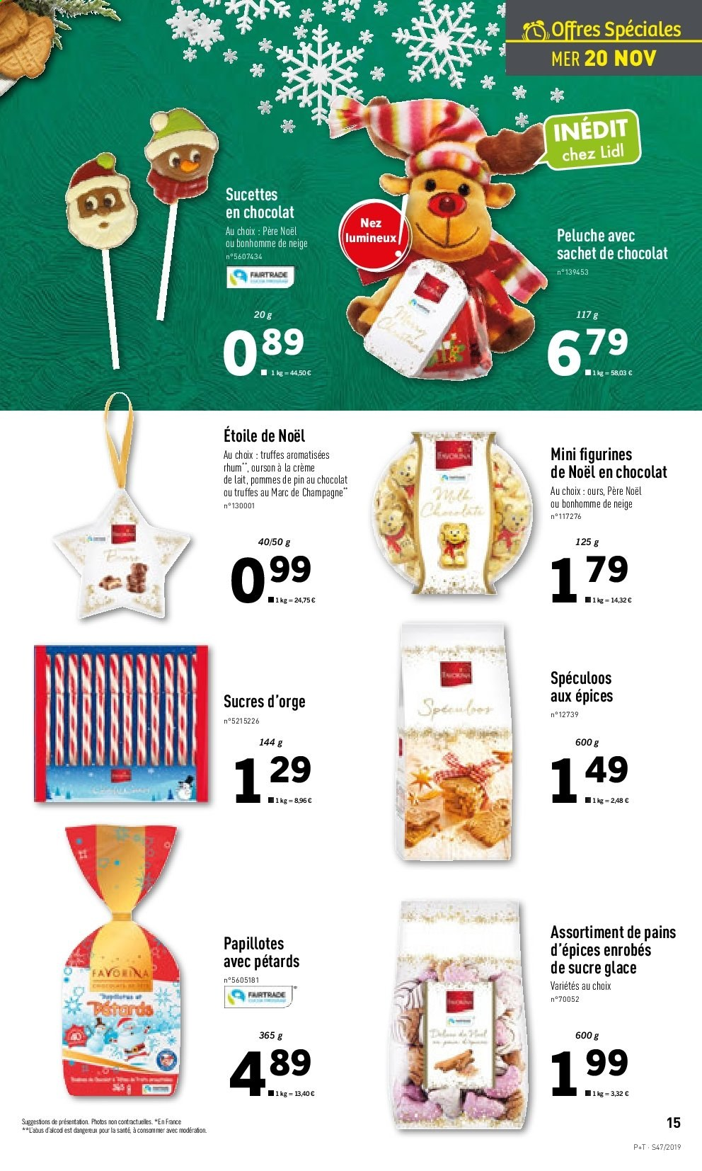 Catalogue Lidl - 20.11.2019 - 26.11.2019. Page 15.