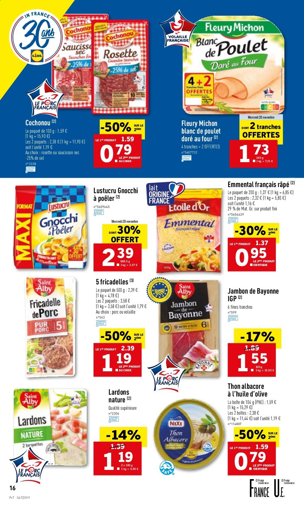 Catalogue Lidl - 20.11.2019 - 26.11.2019. Page 16.