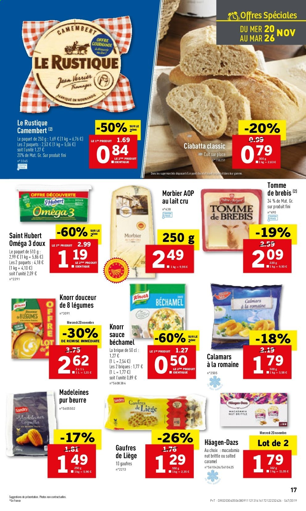 Catalogue Lidl - 20.11.2019 - 26.11.2019. Page 17.