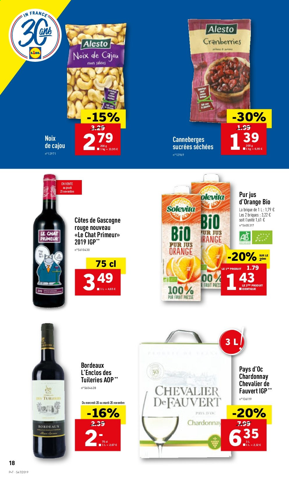 Catalogue Lidl - 20.11.2019 - 26.11.2019. Page 18.