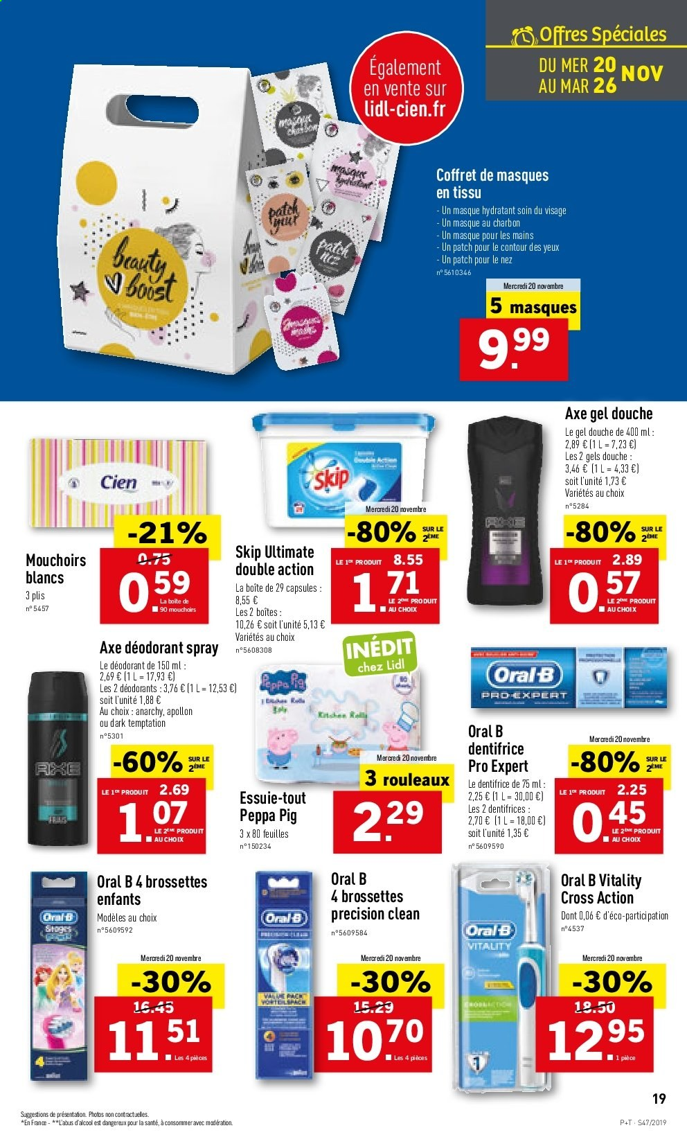 Catalogue Lidl - 20.11.2019 - 26.11.2019. Page 19.