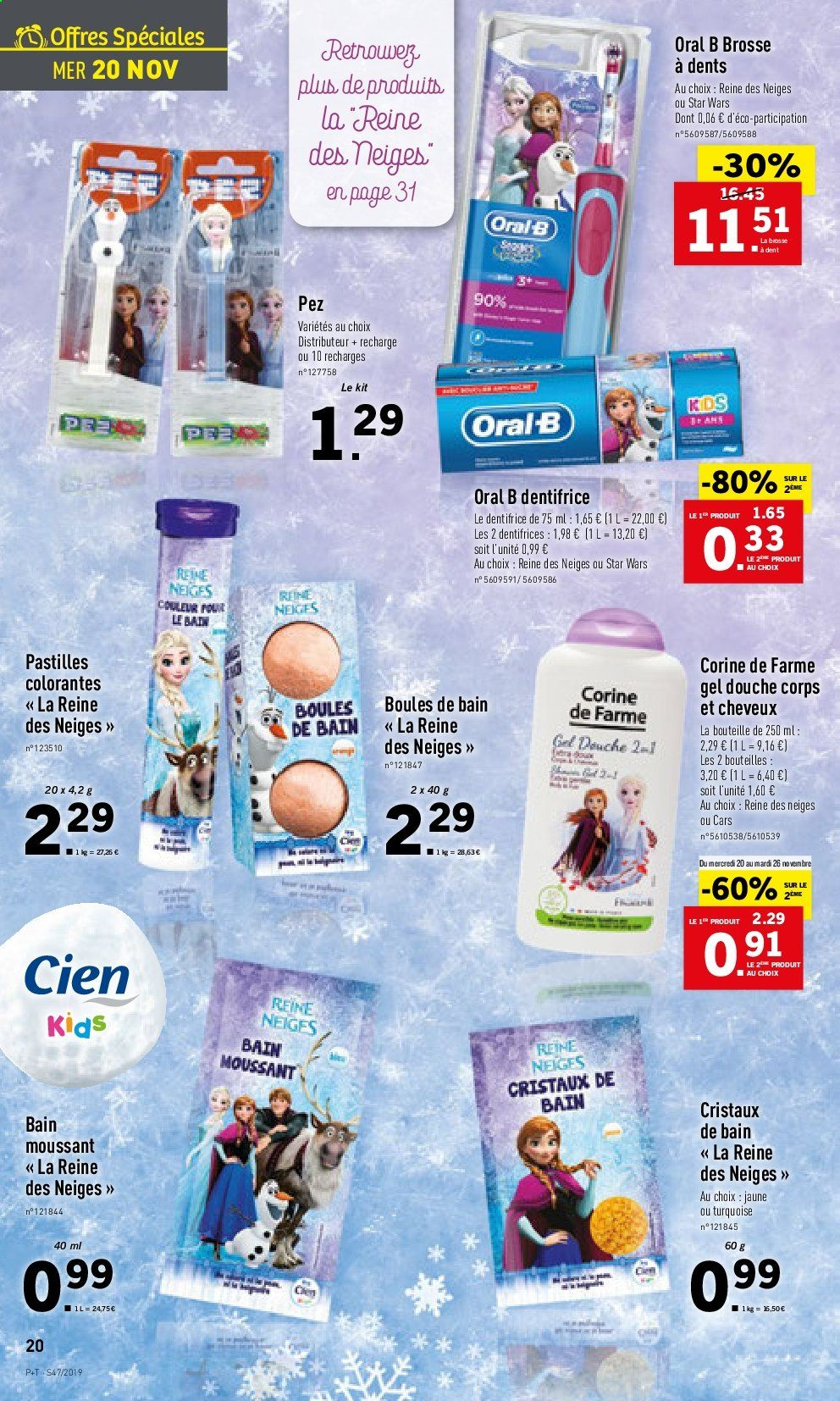Catalogue Lidl - 20.11.2019 - 26.11.2019. Page 20.