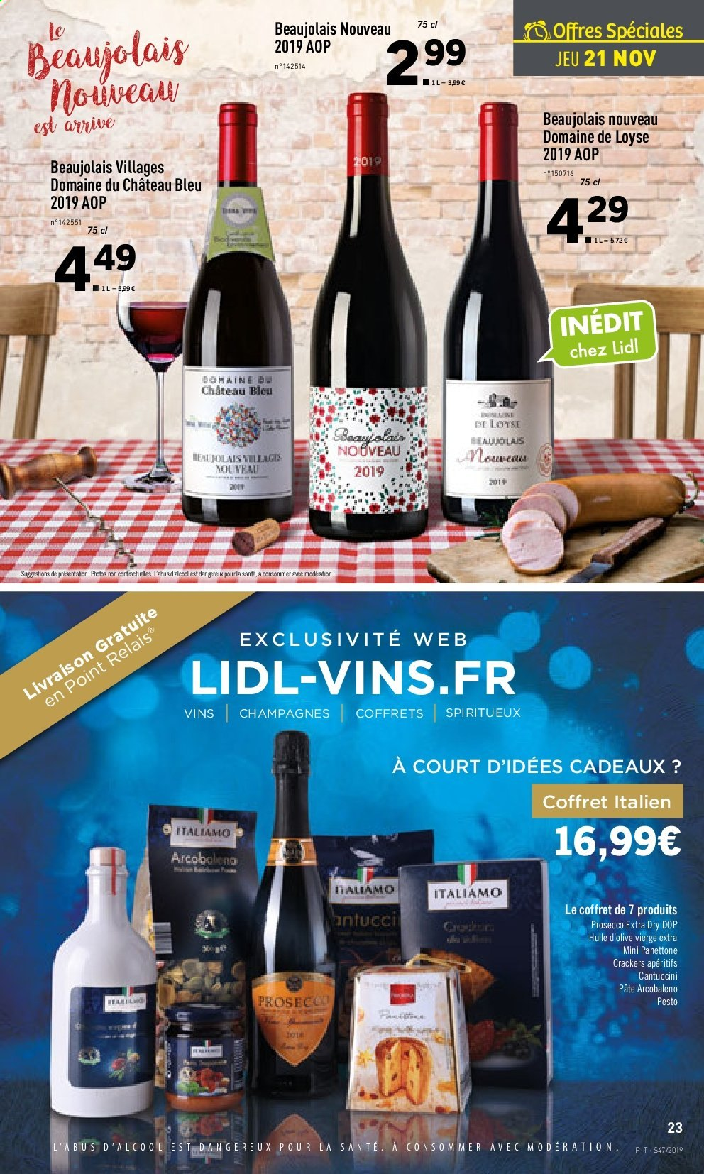 Catalogue Lidl - 20.11.2019 - 26.11.2019. Page 23.