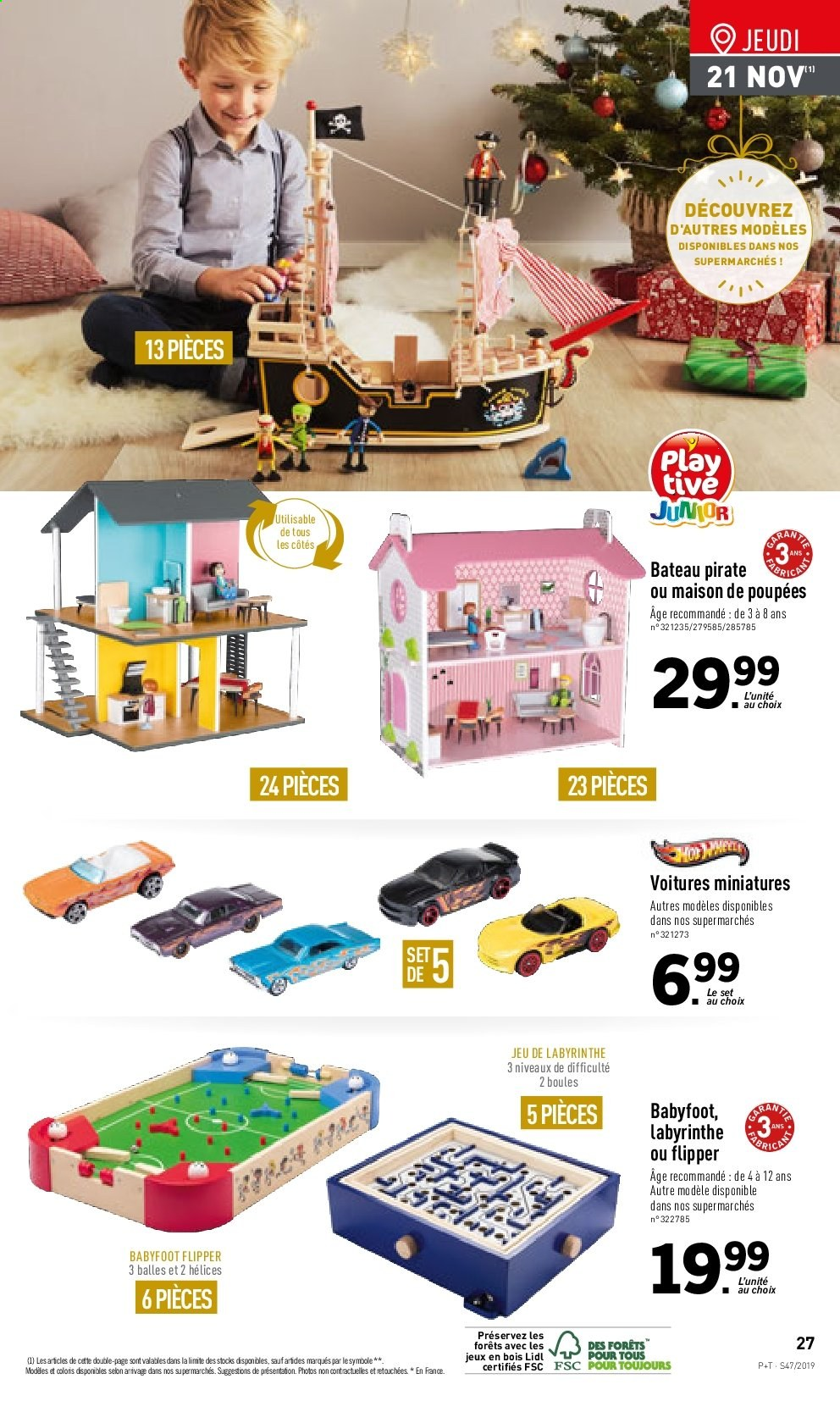Catalogue Lidl - 20.11.2019 - 26.11.2019. Page 27.