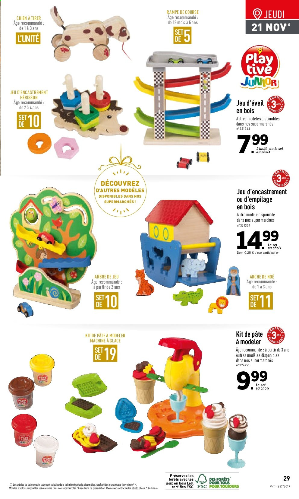 Catalogue Lidl - 20.11.2019 - 26.11.2019. Page 29.