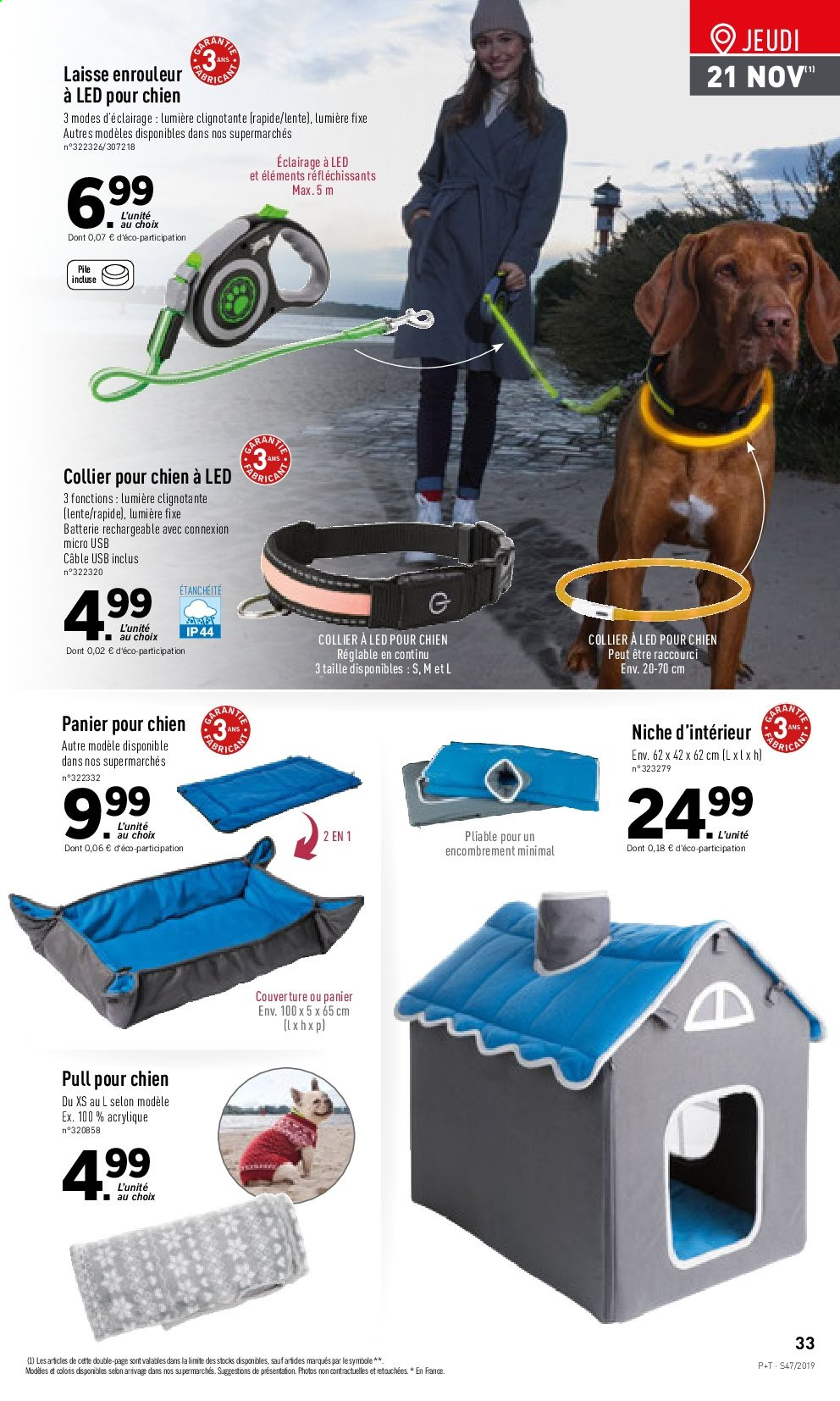 Catalogue Lidl - 20.11.2019 - 26.11.2019. Page 33.
