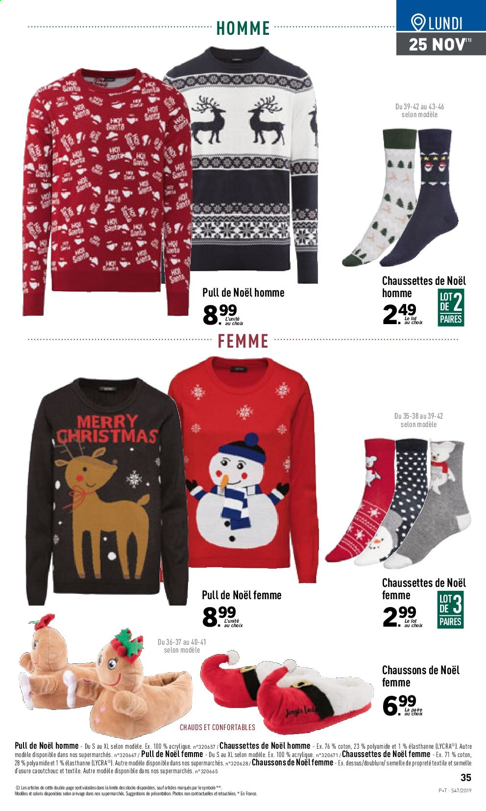 Catalogue Lidl - 20.11.2019 - 26.11.2019. Page 35.