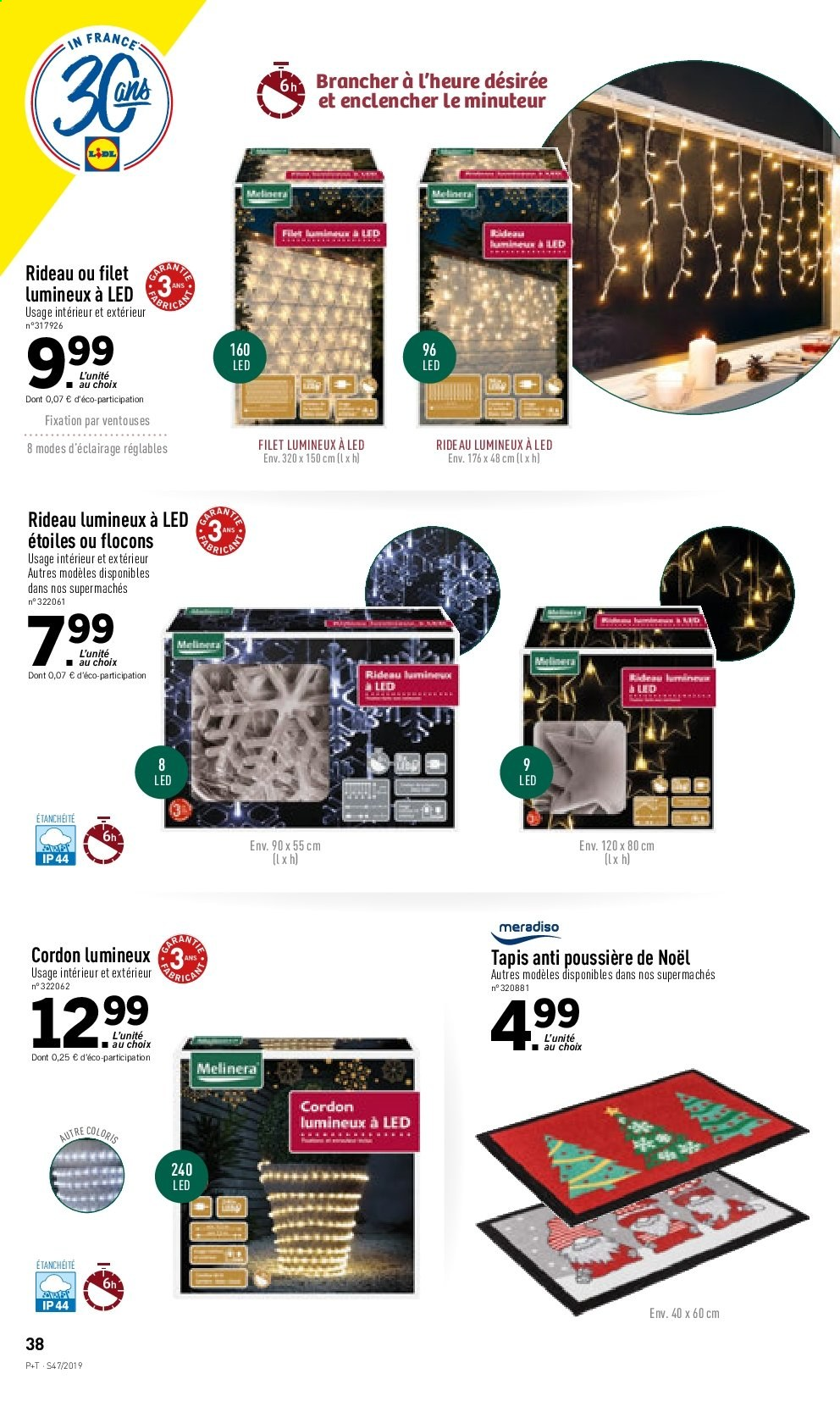 Catalogue Lidl - 20.11.2019 - 26.11.2019. Page 38.
