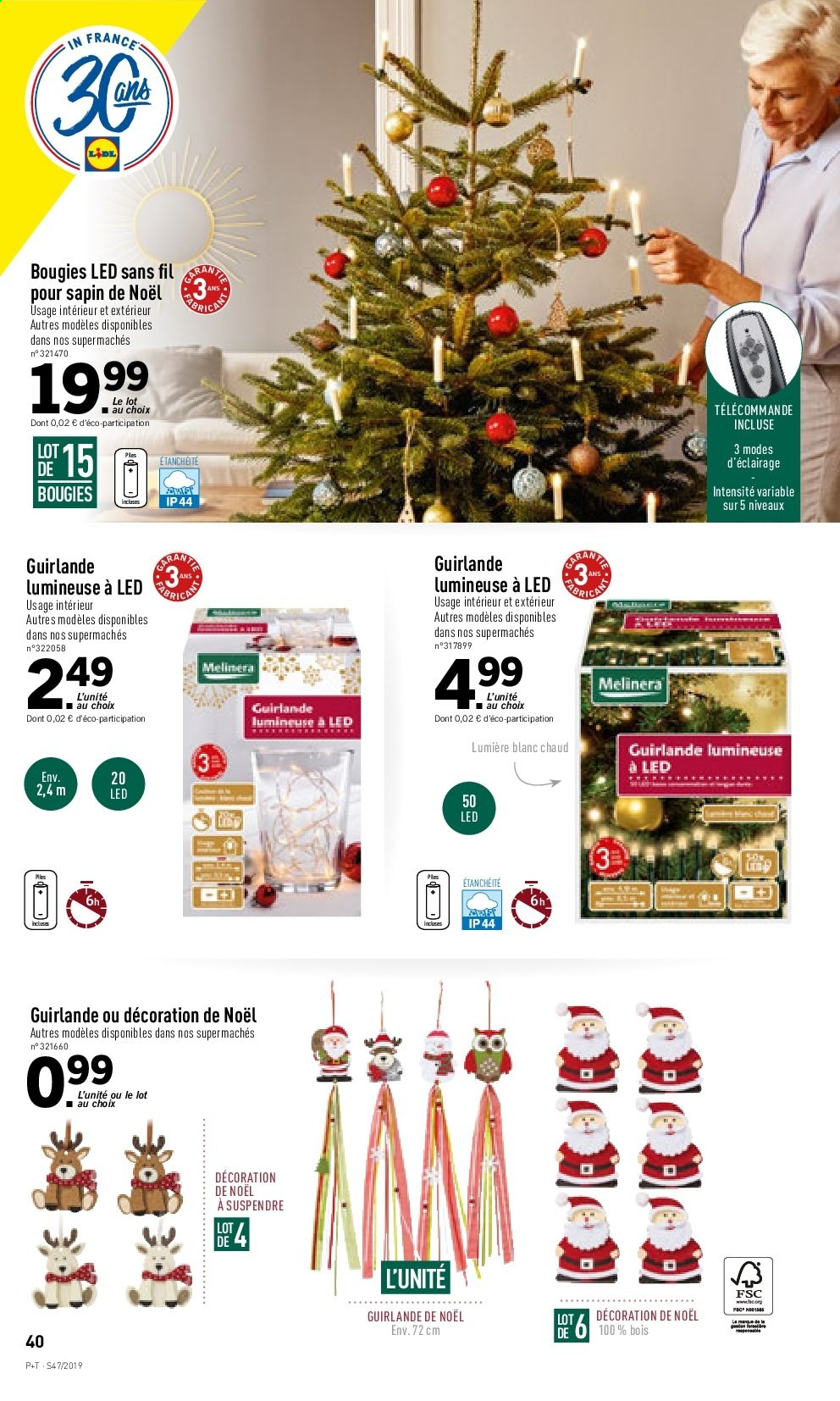 Catalogue Lidl - 20.11.2019 - 26.11.2019. Page 40.