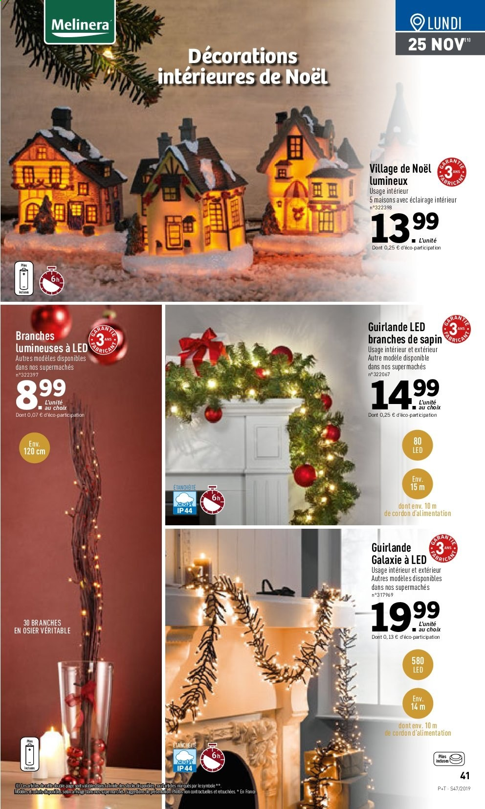 Catalogue Lidl - 20.11.2019 - 26.11.2019. Page 41.