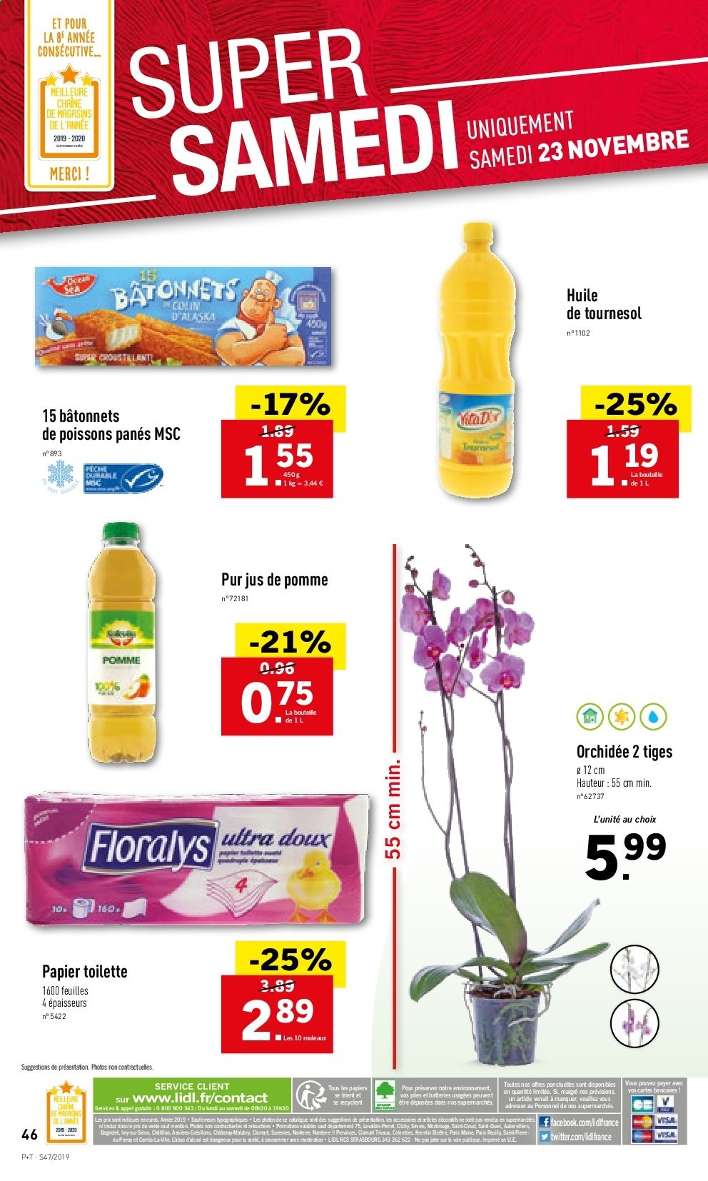 Catalogue Lidl - 20.11.2019 - 26.11.2019. Page 46.