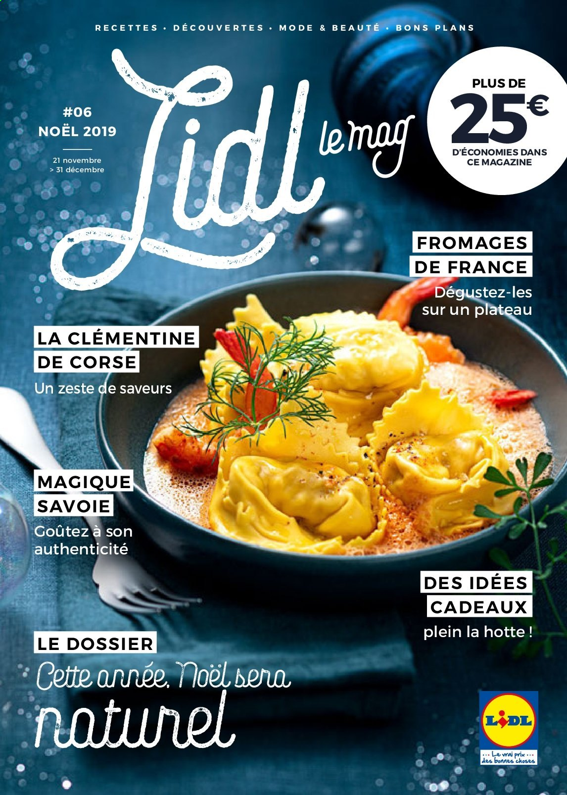 Catalogue Lidl - 21.11.2019 - 31.12.2019. Page 1.