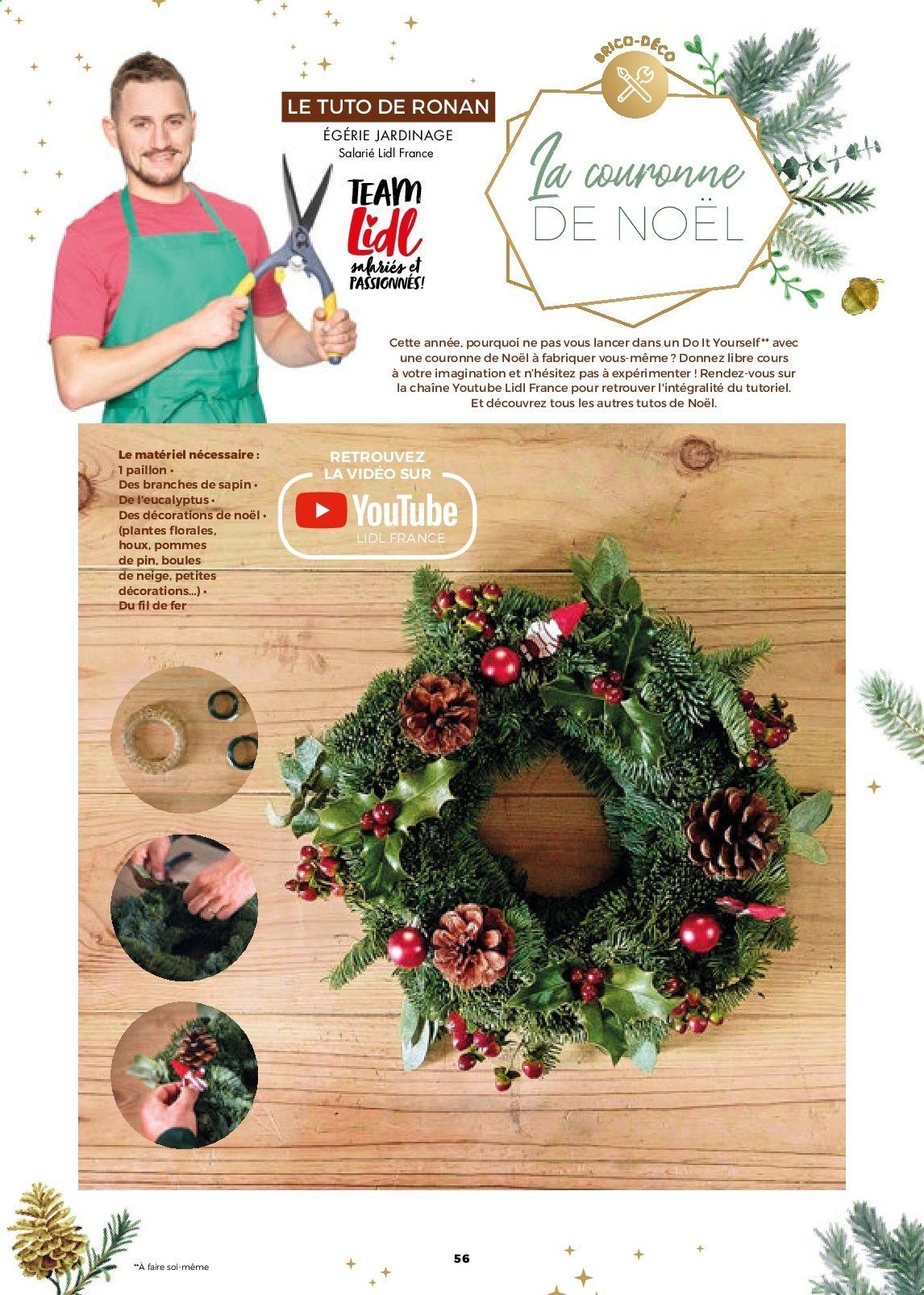 Catalogue Lidl - 21.11.2019 - 31.12.2019. Page 56.