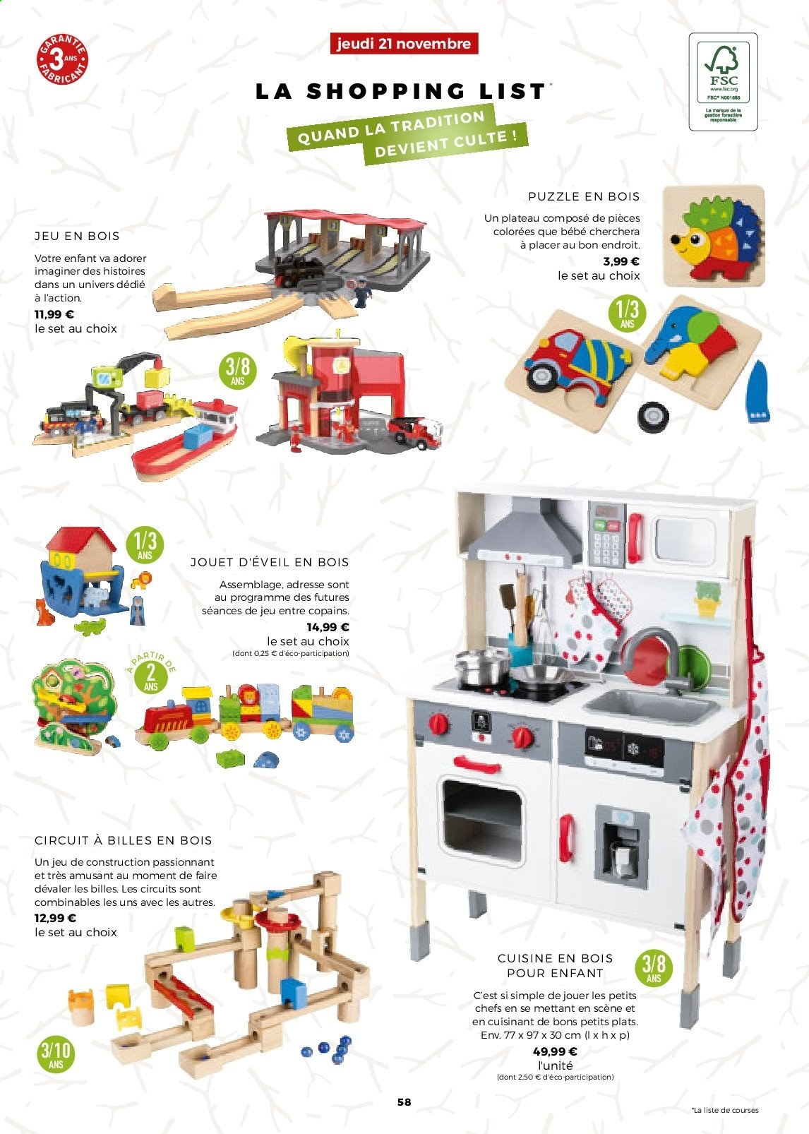 Catalogue Lidl - 21.11.2019 - 31.12.2019. Page 58.