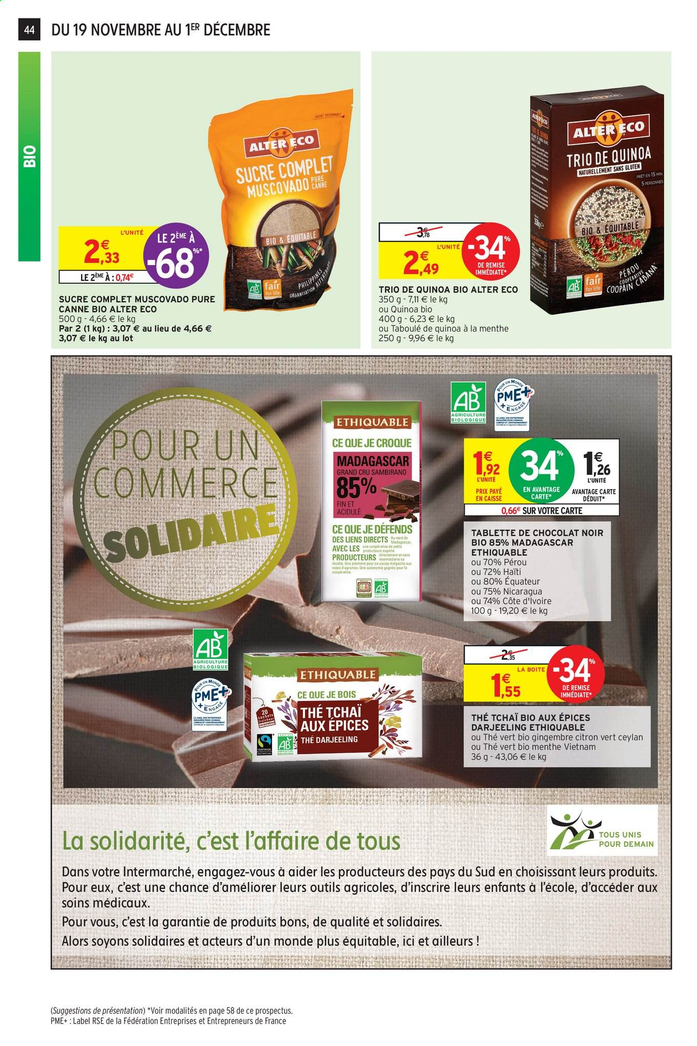 Catalogue Intermarché - 19.11.2019 - 01.12.2019. Page 40.