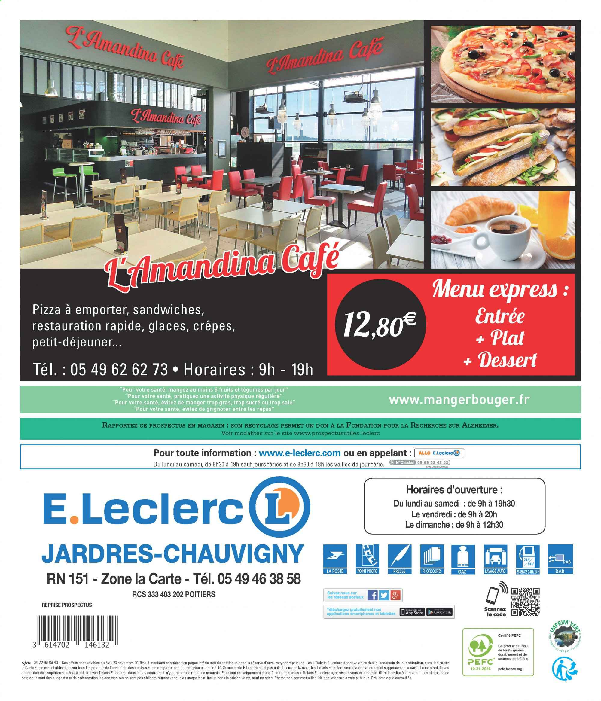 Catalogue E.Leclerc - 05.11.2019 - 23.11.2019. Page 16.