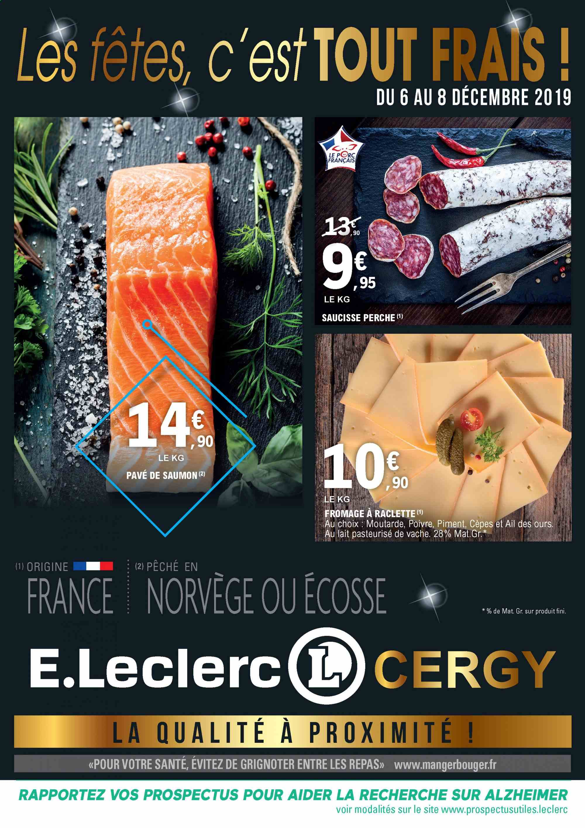 Catalogue E.Leclerc - 06.12.2019 - 08.12.2019. Page 1.