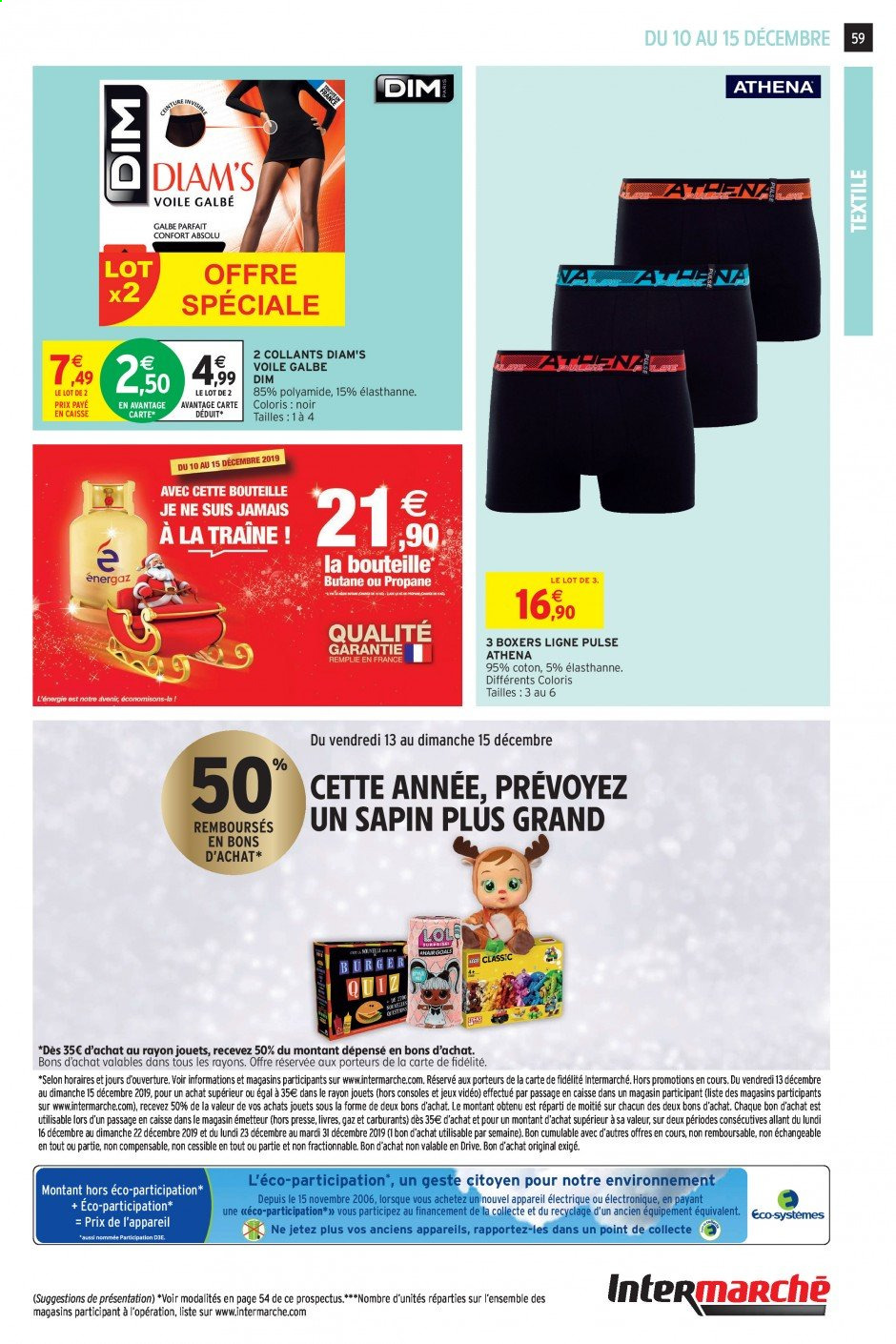 Catalogue Intermarché - 10.12.2019 - 15.12.2019. Page 55.