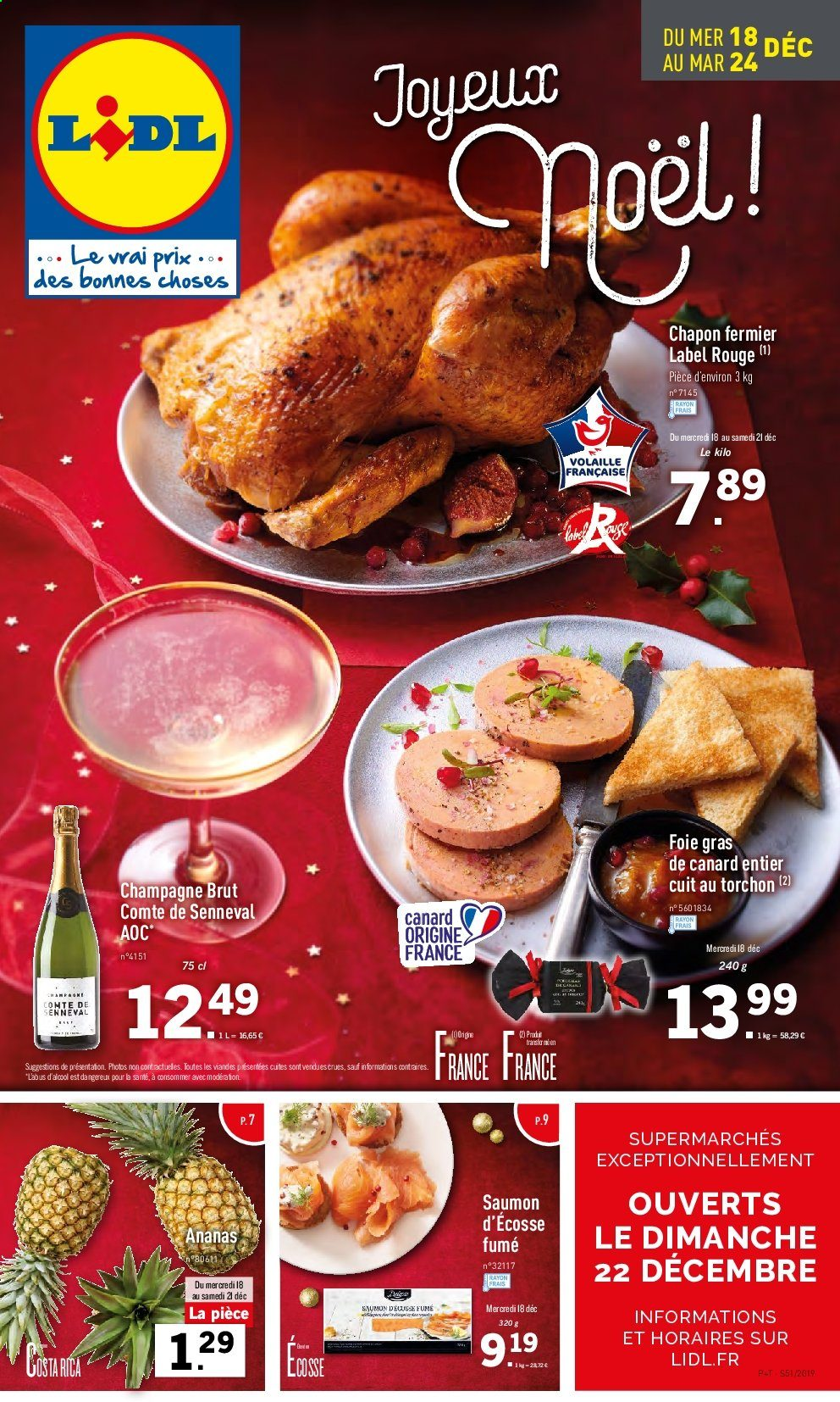 Catalogue Lidl - 18.12.2019 - 24.12.2019. Page 1.
