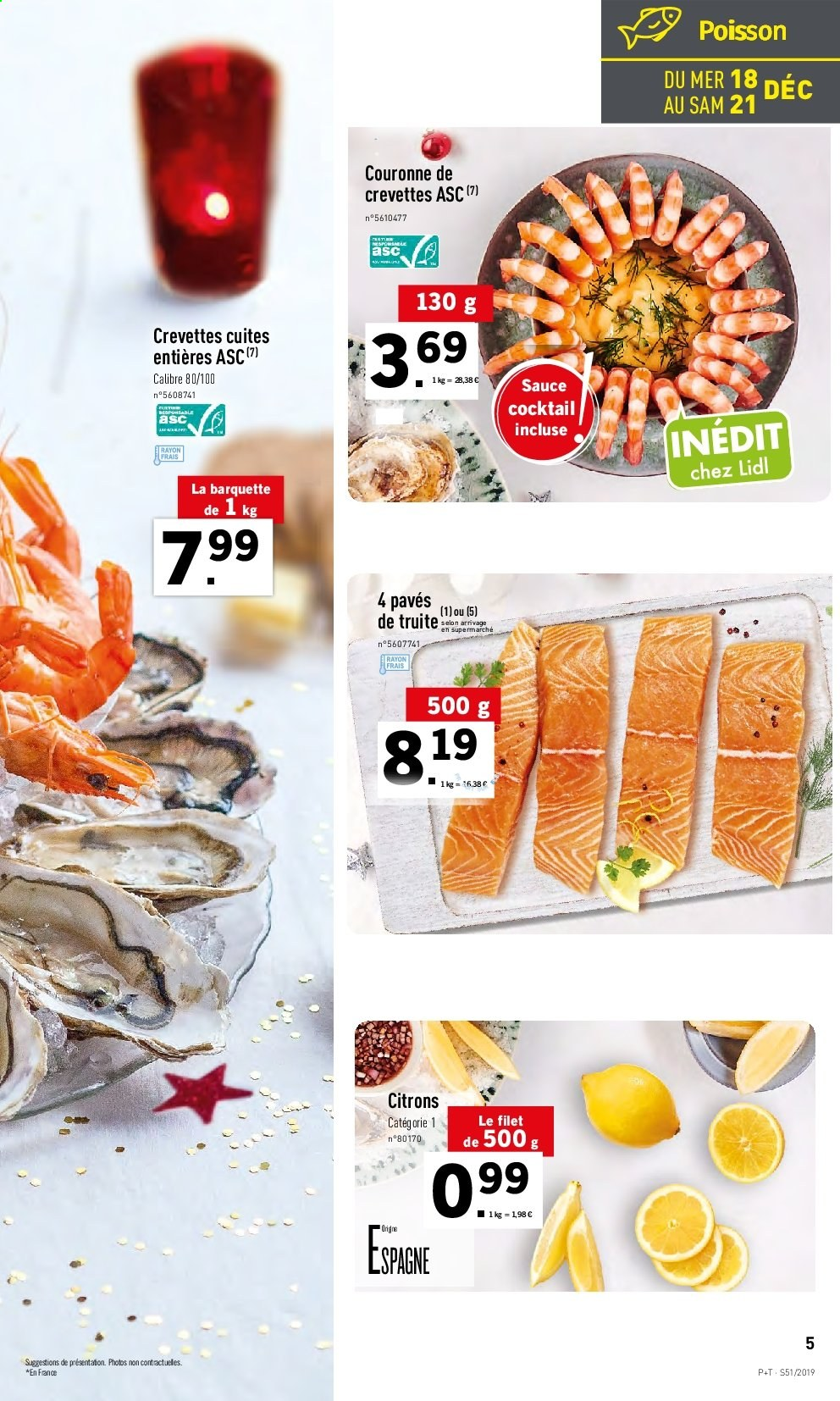 Catalogue Lidl - 18.12.2019 - 24.12.2019. Page 5.