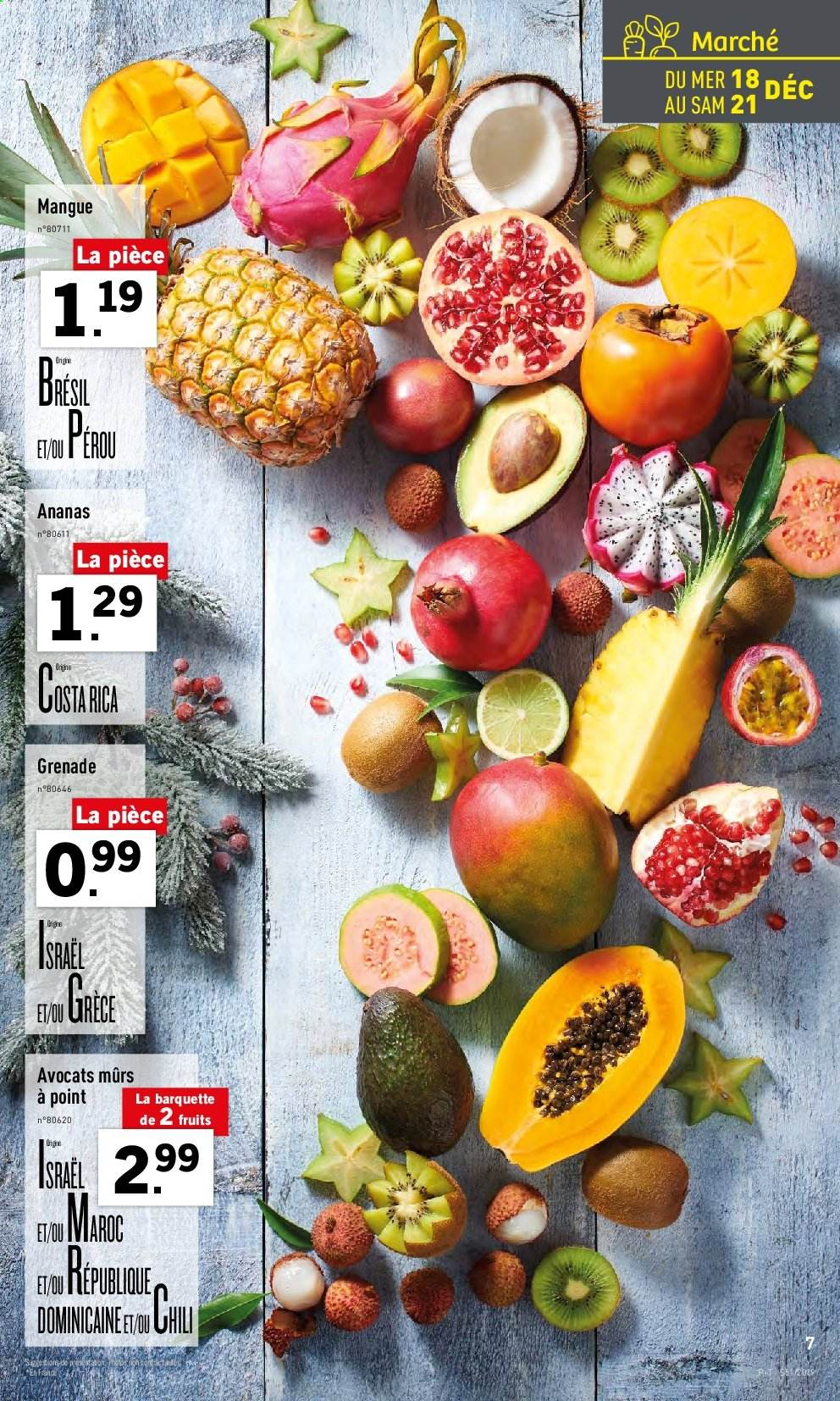 Catalogue Lidl - 18.12.2019 - 24.12.2019. Page 7.