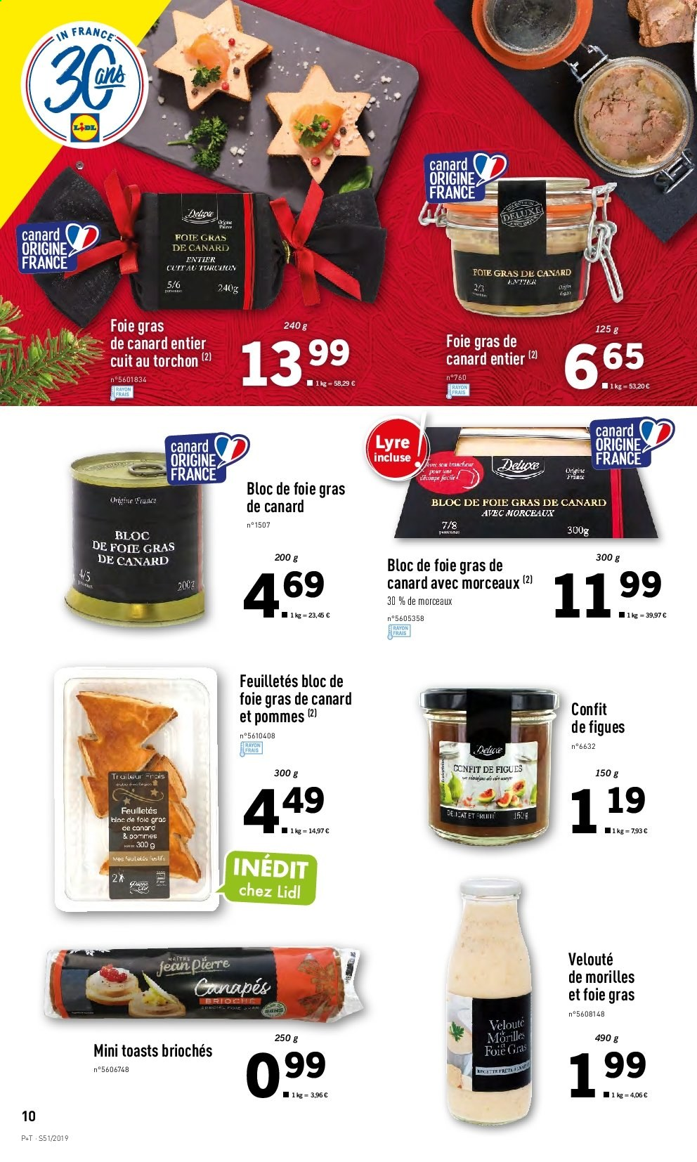 Catalogue Lidl - 18.12.2019 - 24.12.2019. Page 10.