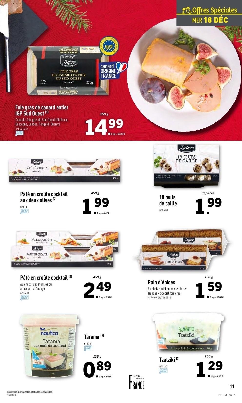 Catalogue Lidl - 18.12.2019 - 24.12.2019. Page 11.