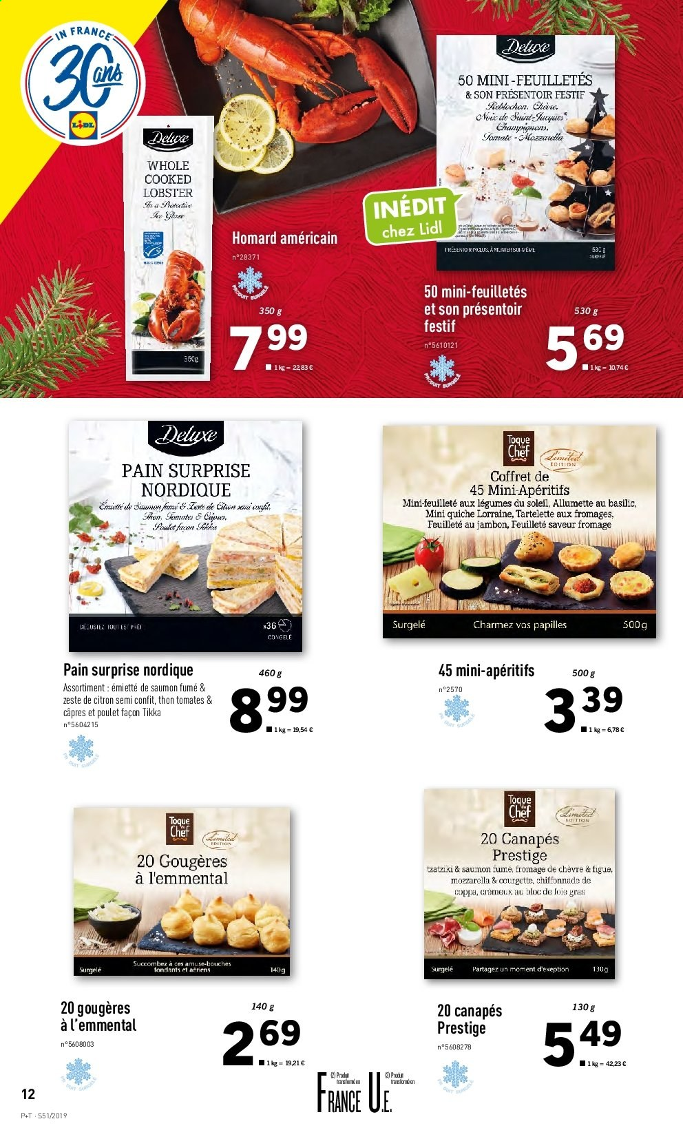 Catalogue Lidl - 18.12.2019 - 24.12.2019. Page 12.