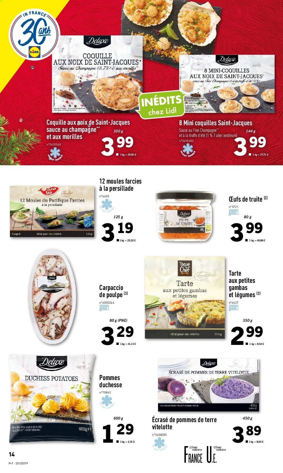 Catalogue Lidl - 18.12.2019 - 24.12.2019. Page 14.