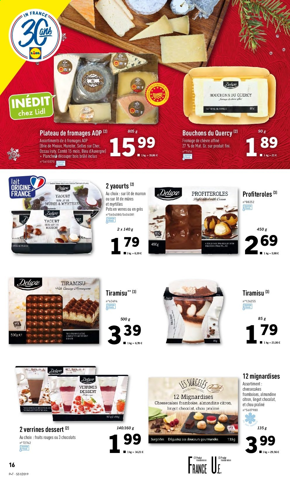 Catalogue Lidl - 18.12.2019 - 24.12.2019. Page 16.