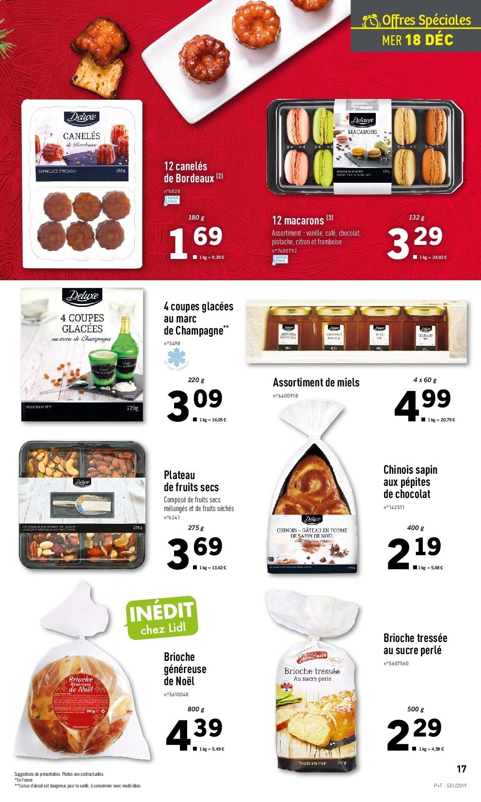 Catalogue Lidl - 18.12.2019 - 24.12.2019. Page 17.