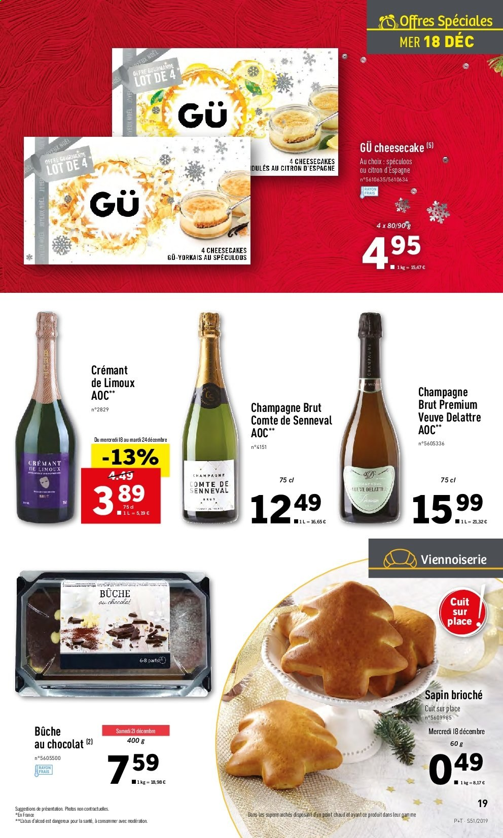 Catalogue Lidl - 18.12.2019 - 24.12.2019. Page 19.