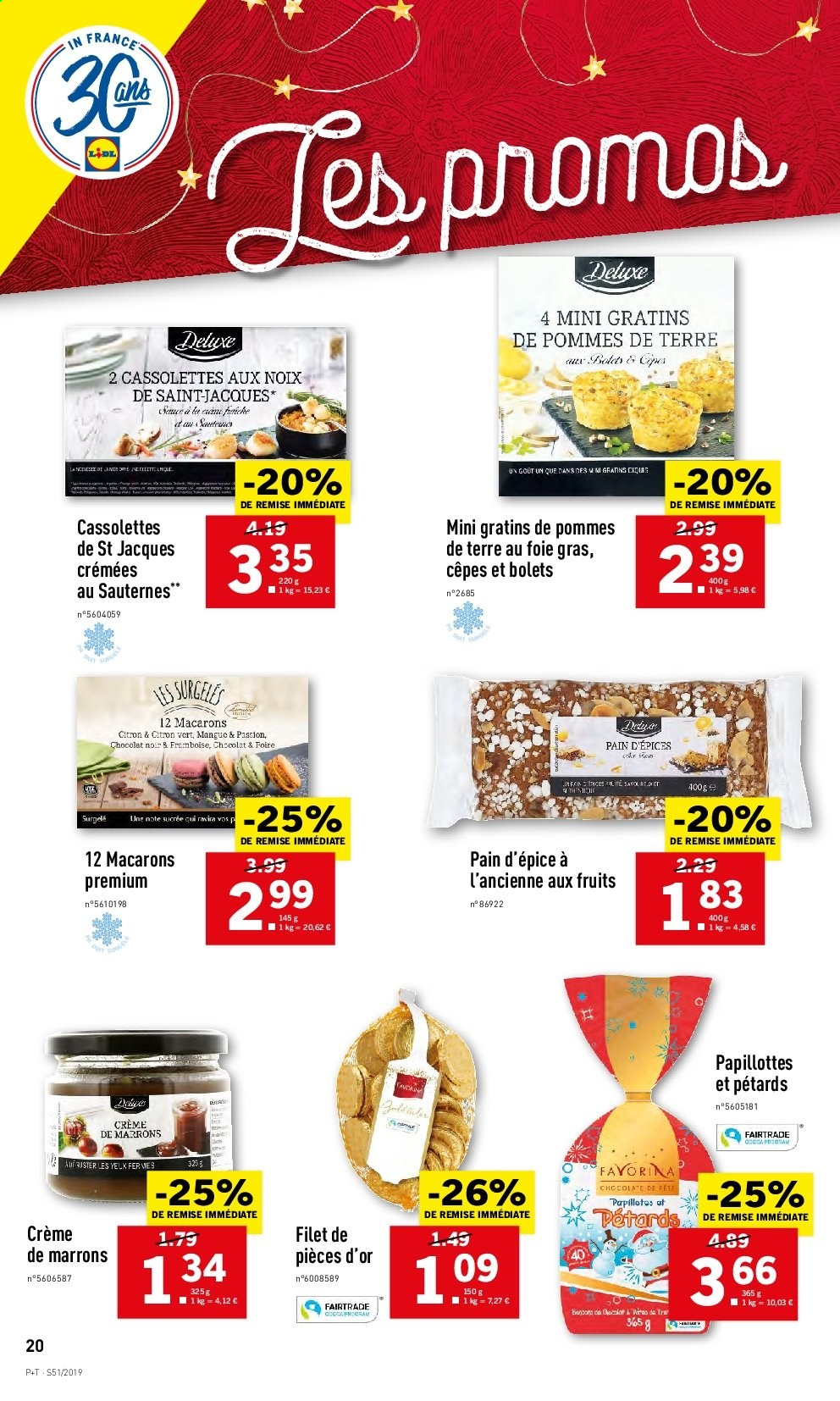 Catalogue Lidl - 18.12.2019 - 24.12.2019. Page 20.