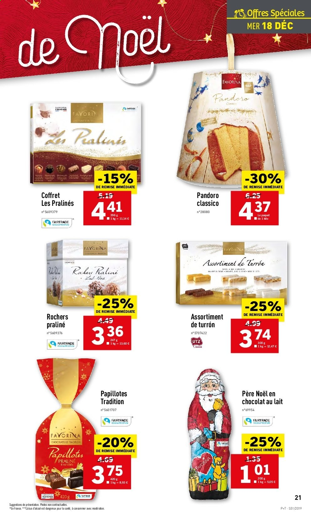 Catalogue Lidl - 18.12.2019 - 24.12.2019. Page 21.