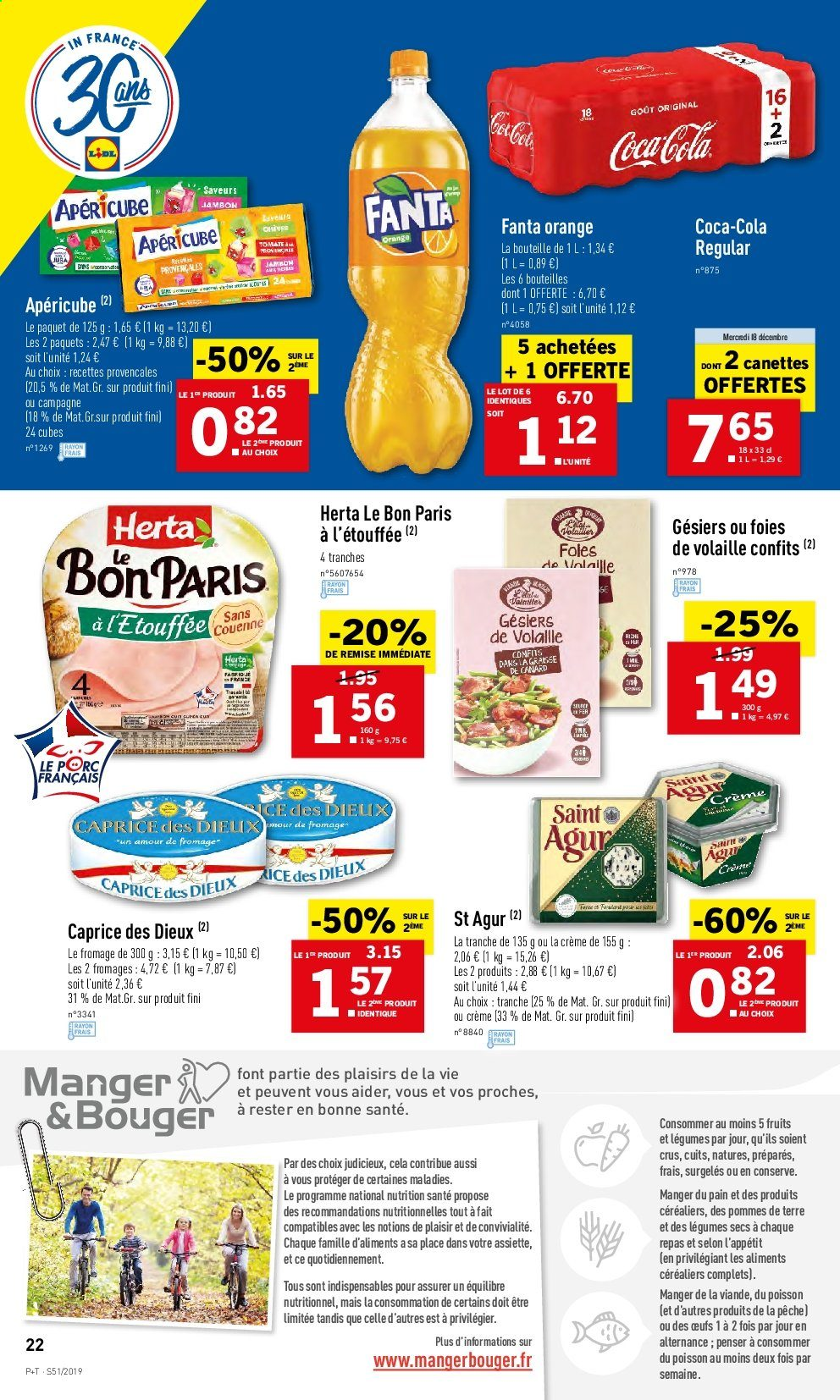 Catalogue Lidl - 18.12.2019 - 24.12.2019. Page 22.