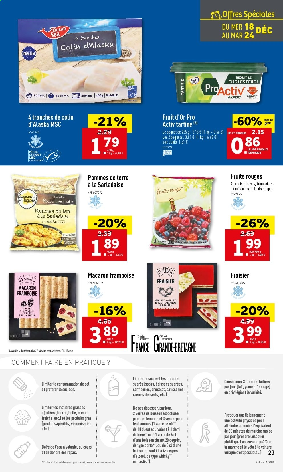 Catalogue Lidl - 18.12.2019 - 24.12.2019. Page 23.