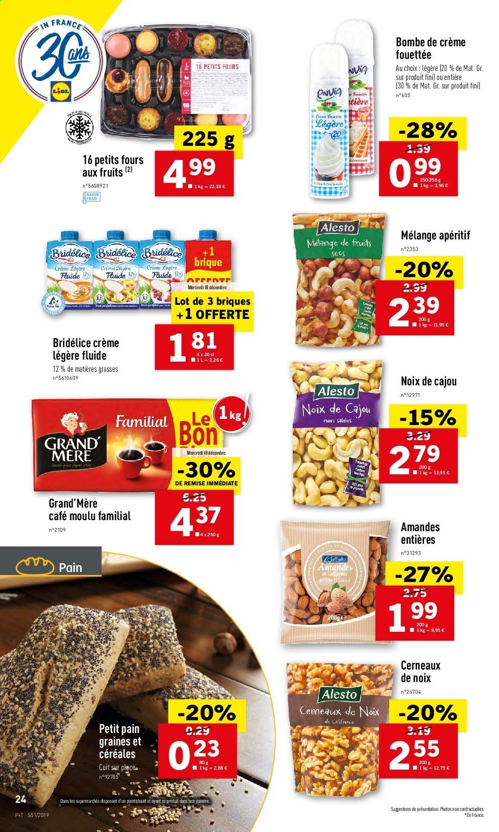 Catalogue Lidl - 18.12.2019 - 24.12.2019. Page 24.