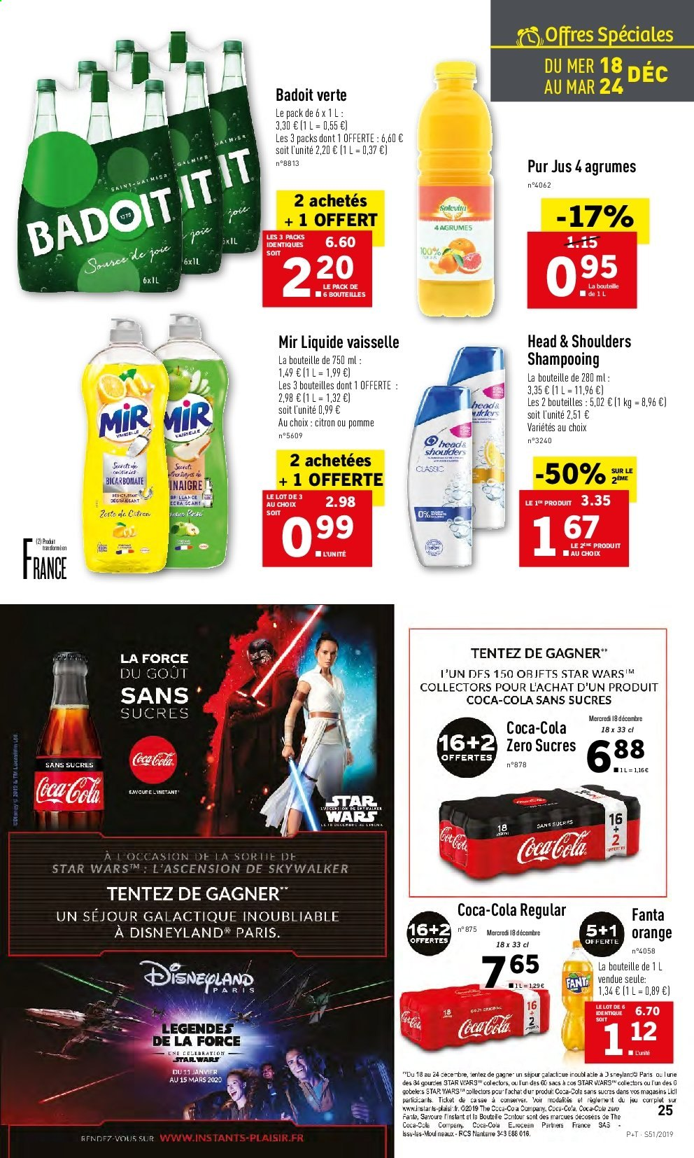 Catalogue Lidl - 18.12.2019 - 24.12.2019. Page 25.