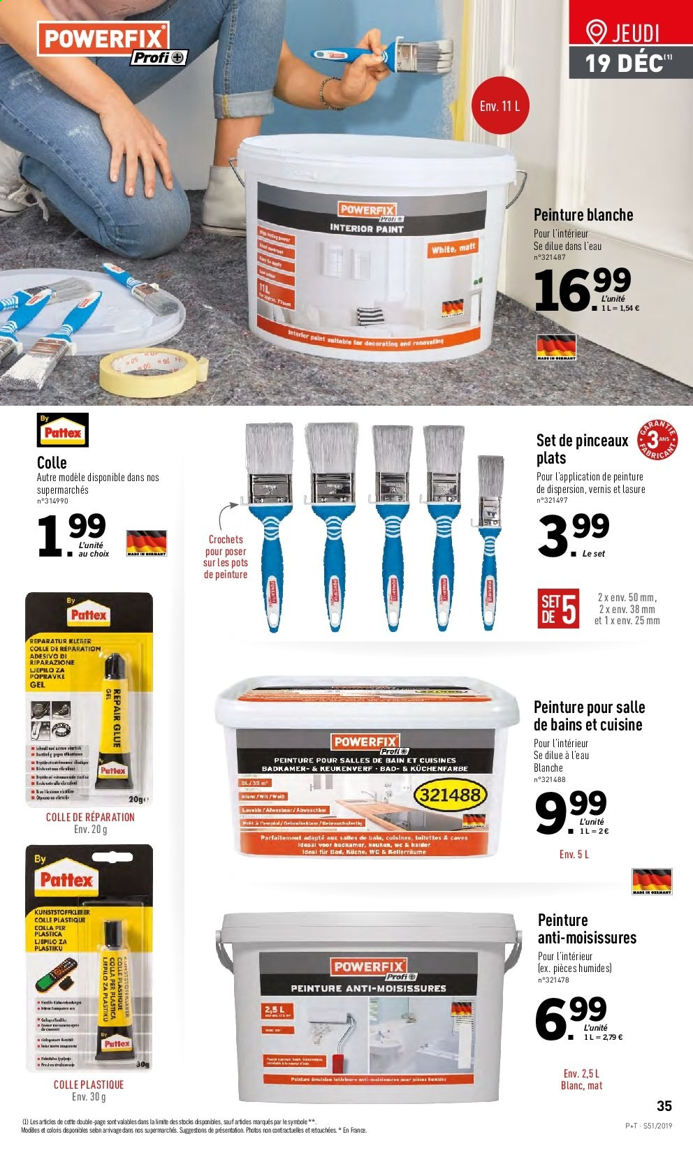 Catalogue Lidl - 18.12.2019 - 24.12.2019. Page 35.
