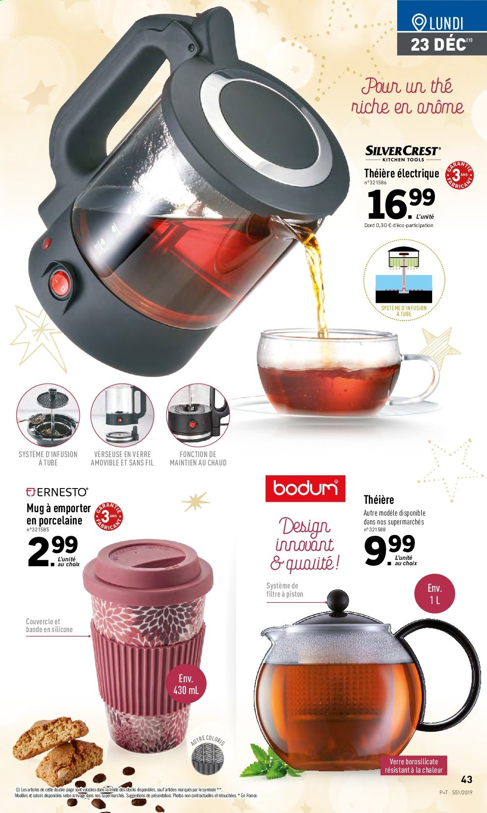 Catalogue Lidl - 18.12.2019 - 24.12.2019. Page 43.