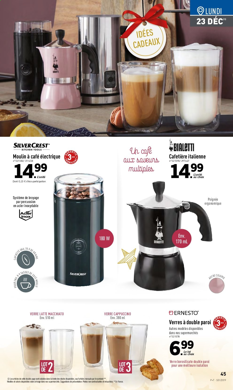 Catalogue Lidl - 18.12.2019 - 24.12.2019. Page 45.