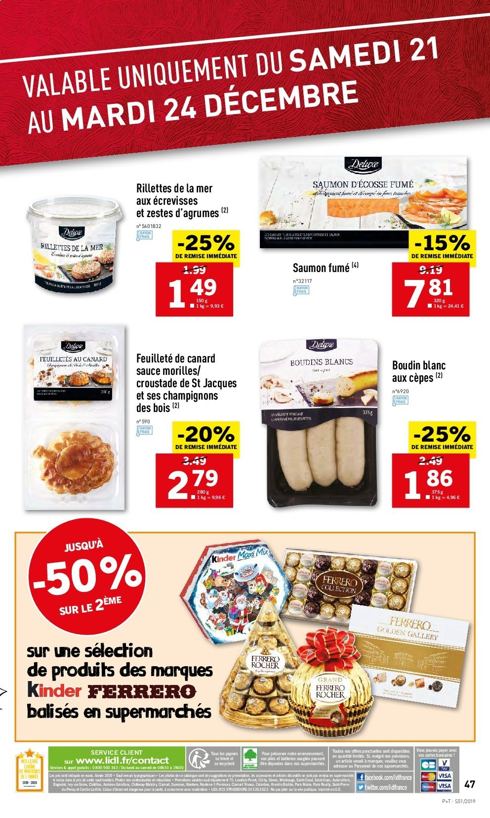Catalogue Lidl - 18.12.2019 - 24.12.2019. Page 47.