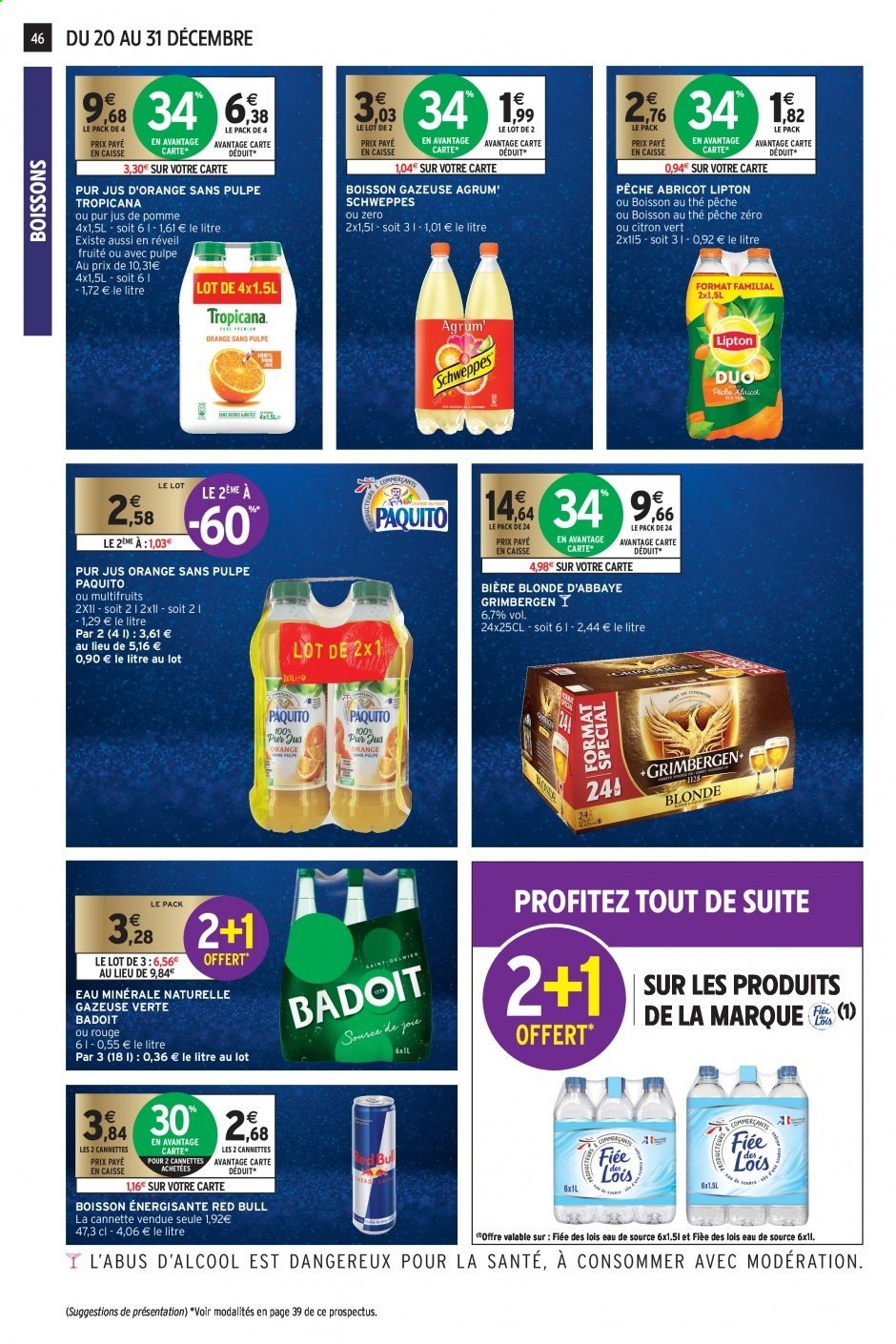 Catalogue Intermarché - 20.12.2019 - 31.12.2019. Page 45.