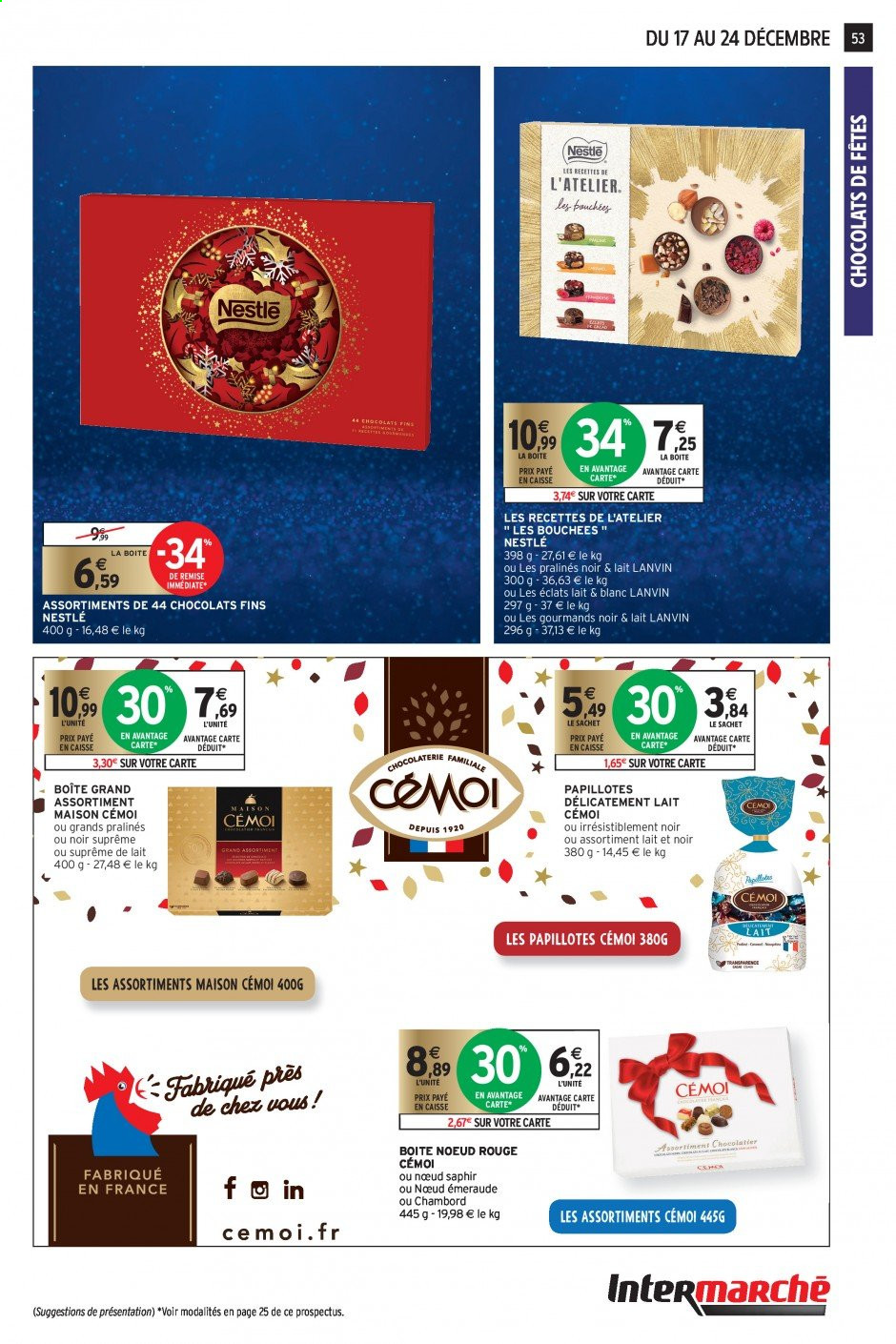Catalogue Intermarché - 17.12.2019 - 24.12.2019. Page 49.