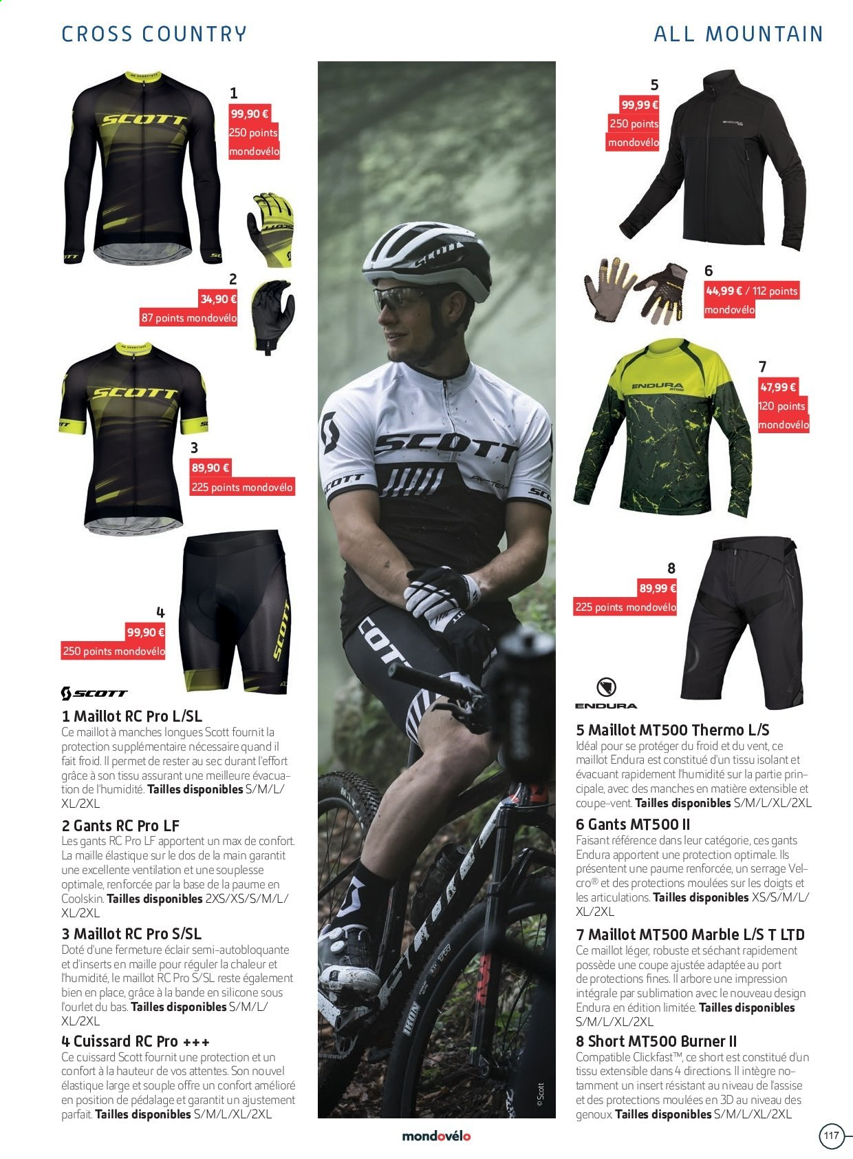 Catalogue Sport 2000. Page 117.